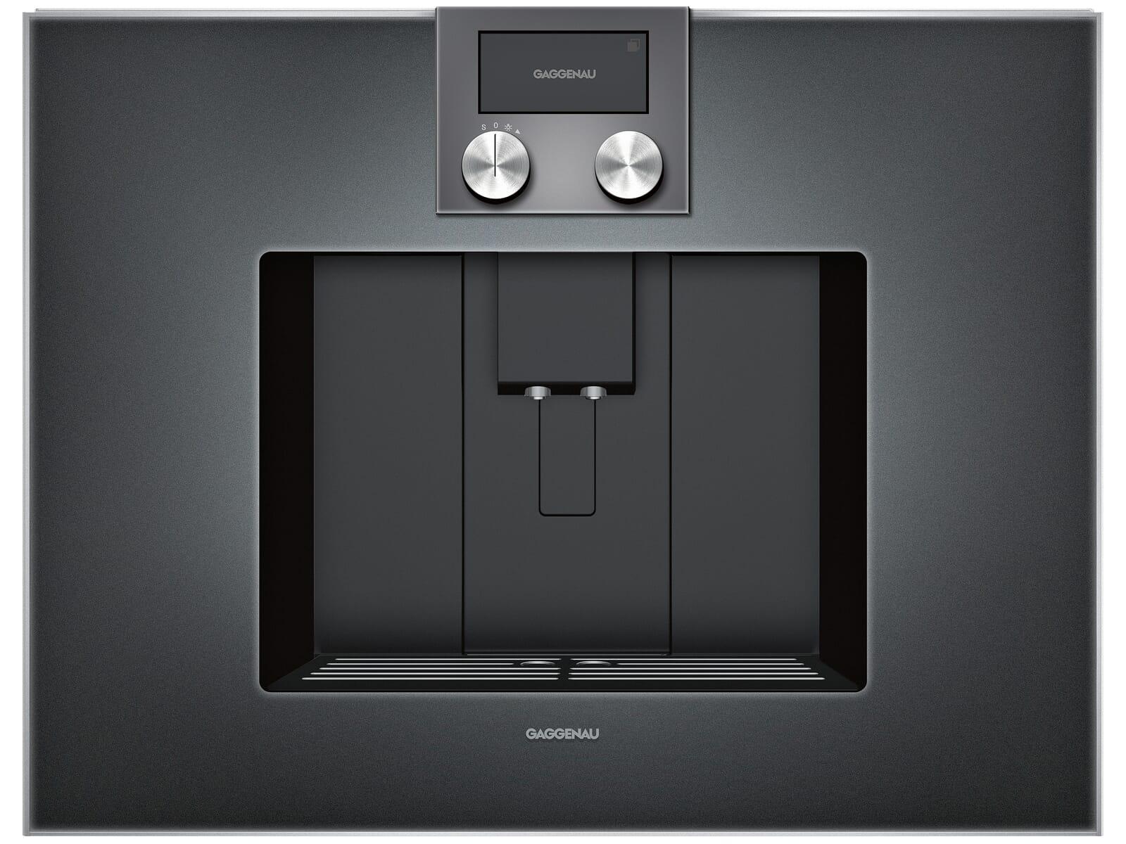 Smeg Kühlschrank Abstand Zur Wand : Gaggenau cm 470 101 einbau espressovollautomat serie 400 anthrazit