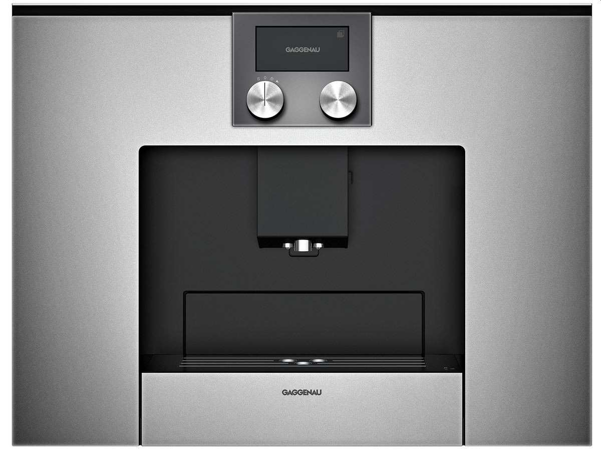 gaggenau cmp 250 110 einbau kaffeevollautomat serie 200 metallic. Black Bedroom Furniture Sets. Home Design Ideas