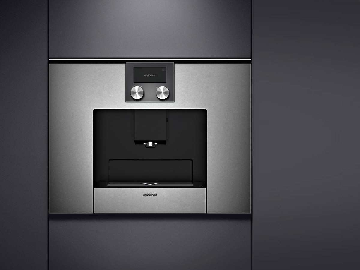 gaggenau cmp 250 110 einbau kaffeevollautomat serie 200. Black Bedroom Furniture Sets. Home Design Ideas