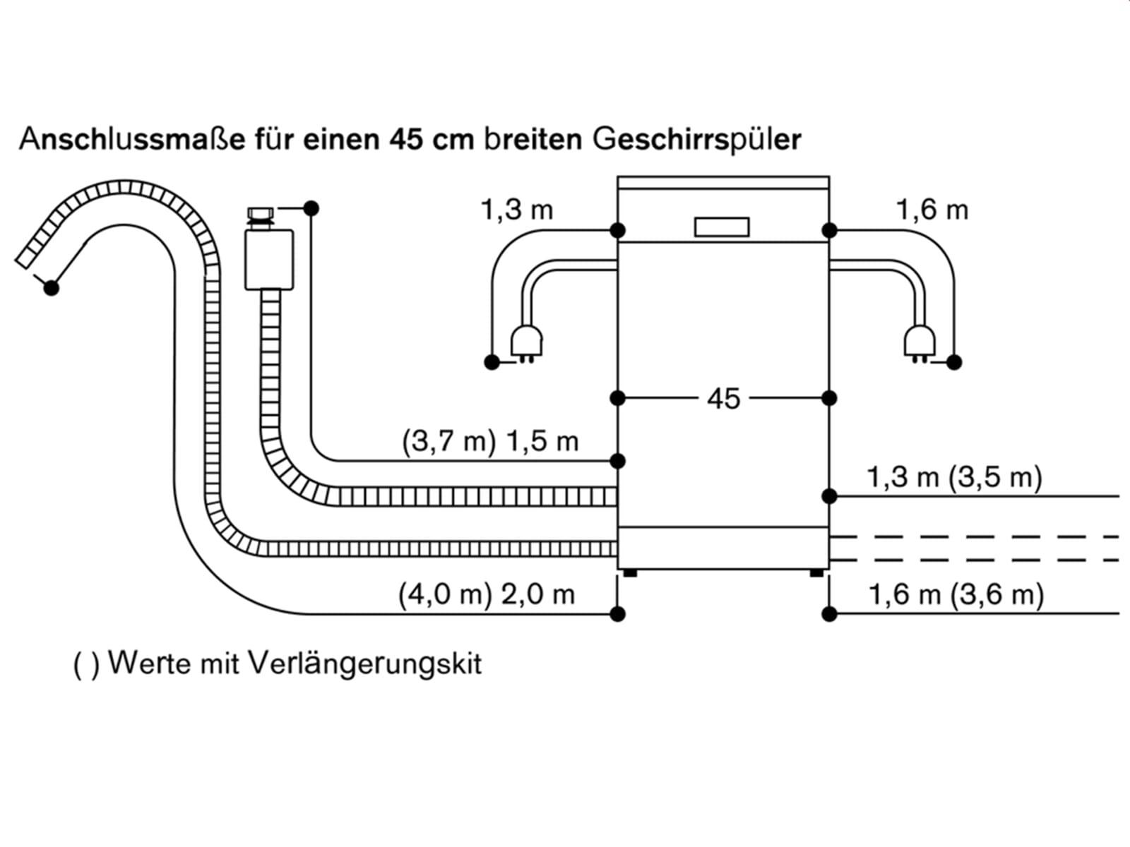Gaggenau DF 250 141 Serie 200 Vollintegrierbarer Einbaugeschirrspüler
