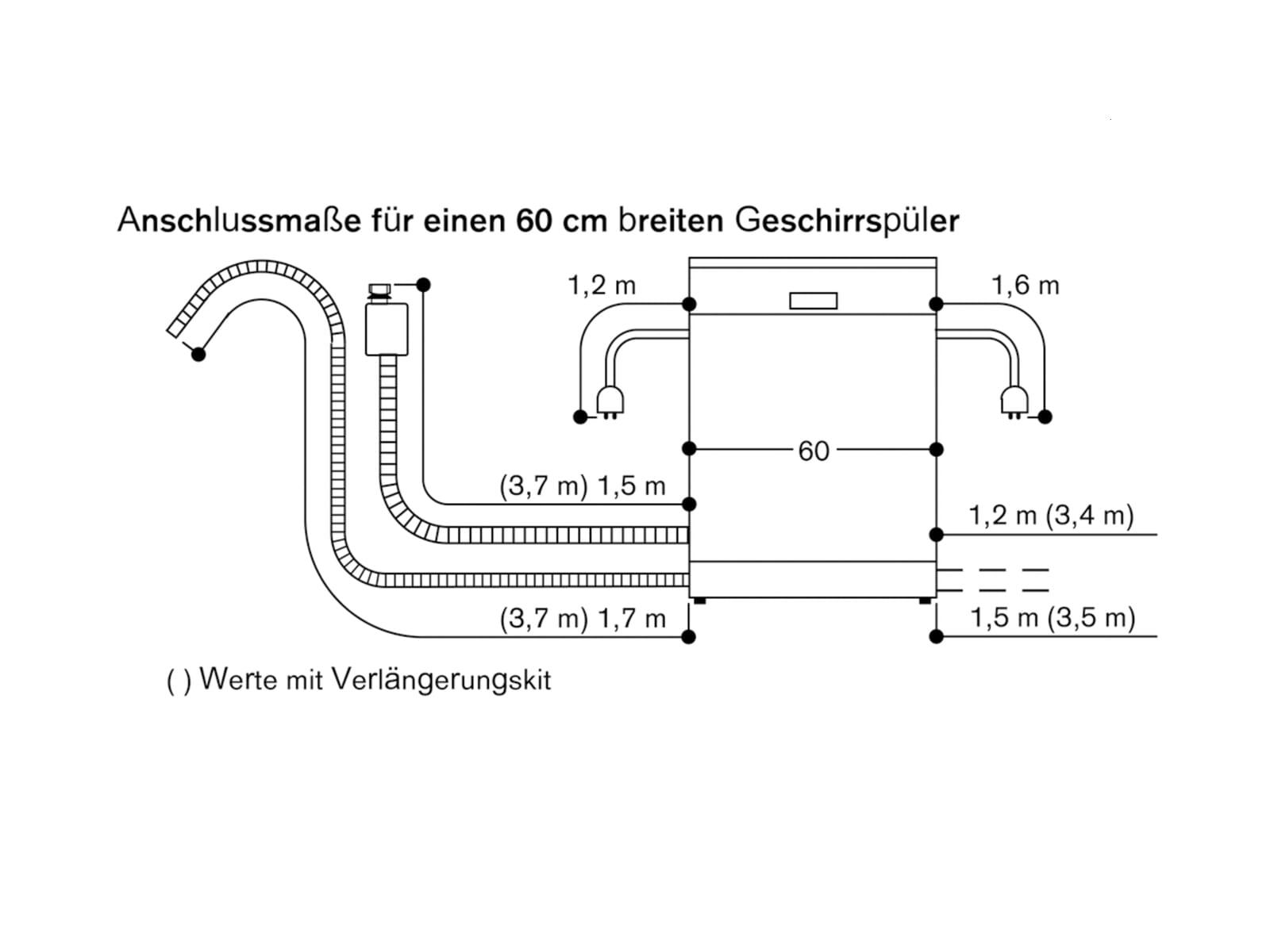 Gaggenau DF 250 162 Serie 200 Vollintegrierbarer Einbaugeschirrspüler