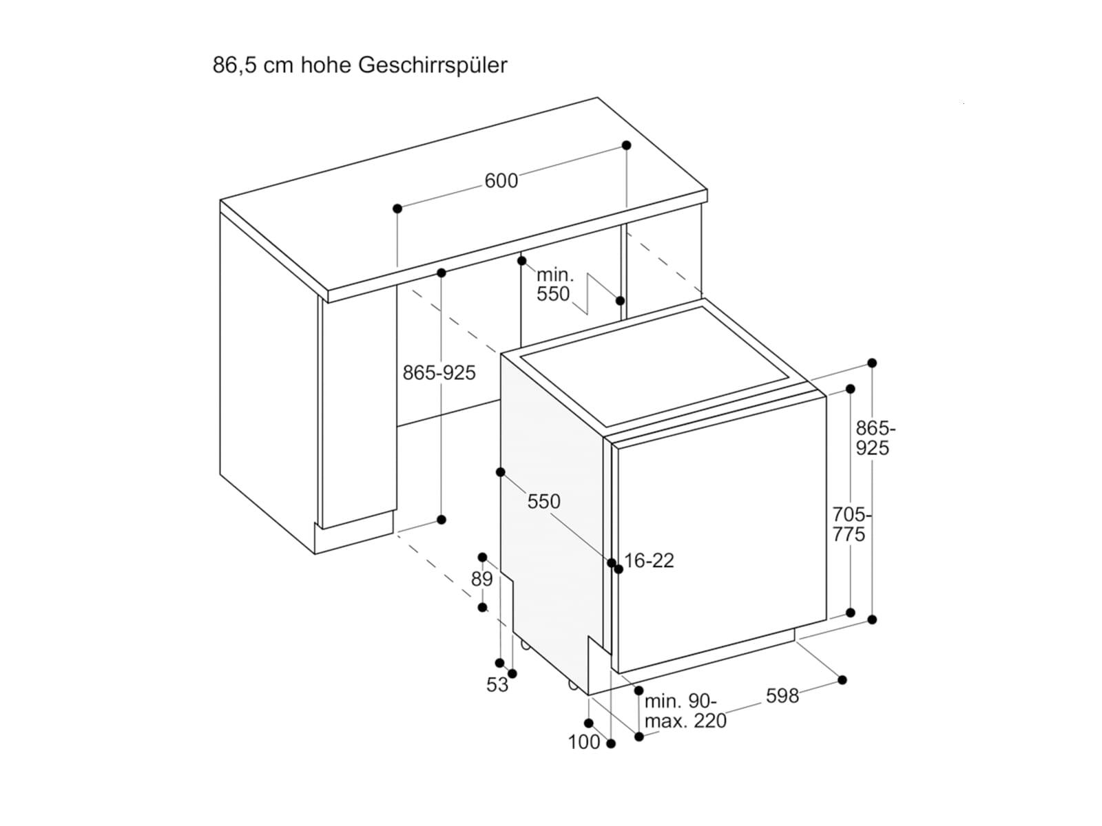 Gaggenau DF 251 162 Serie 200 Vollintegrierbarer Einbaugeschirrspüler XXL