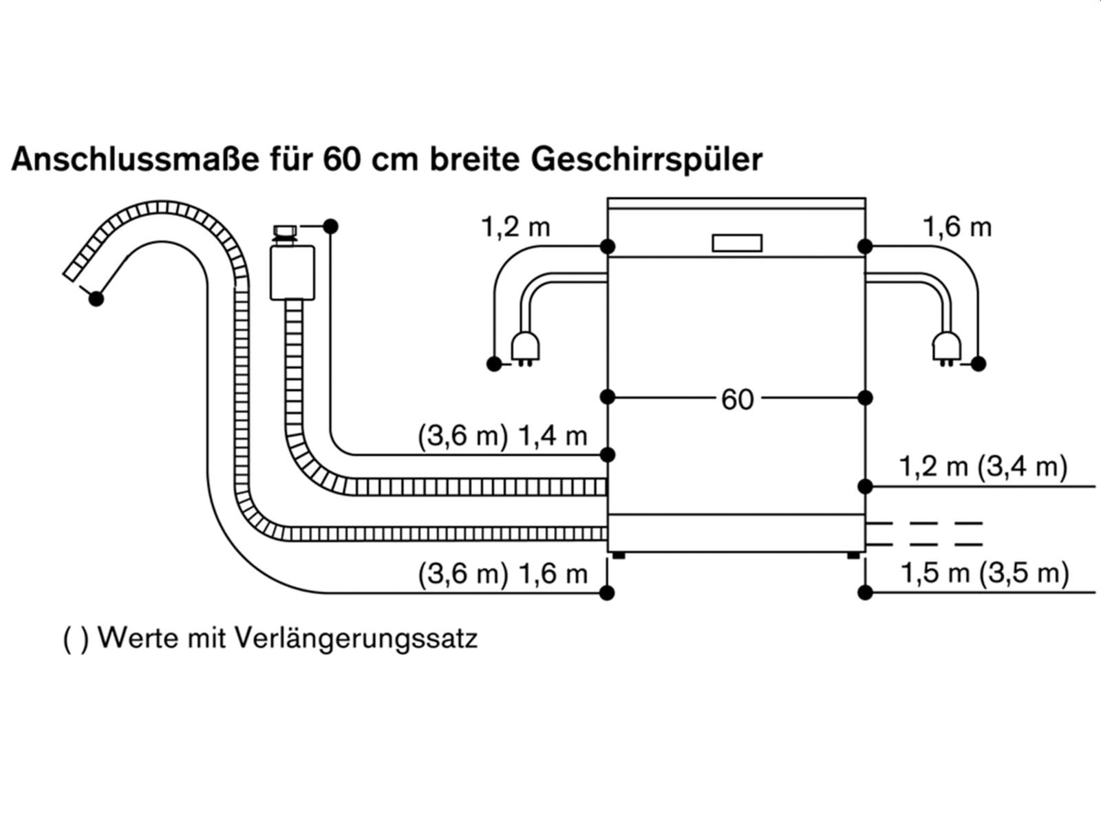 Gaggenau DF 260 165F Serie 200 Vollintegrierbarer Einbaugeschirrspüler