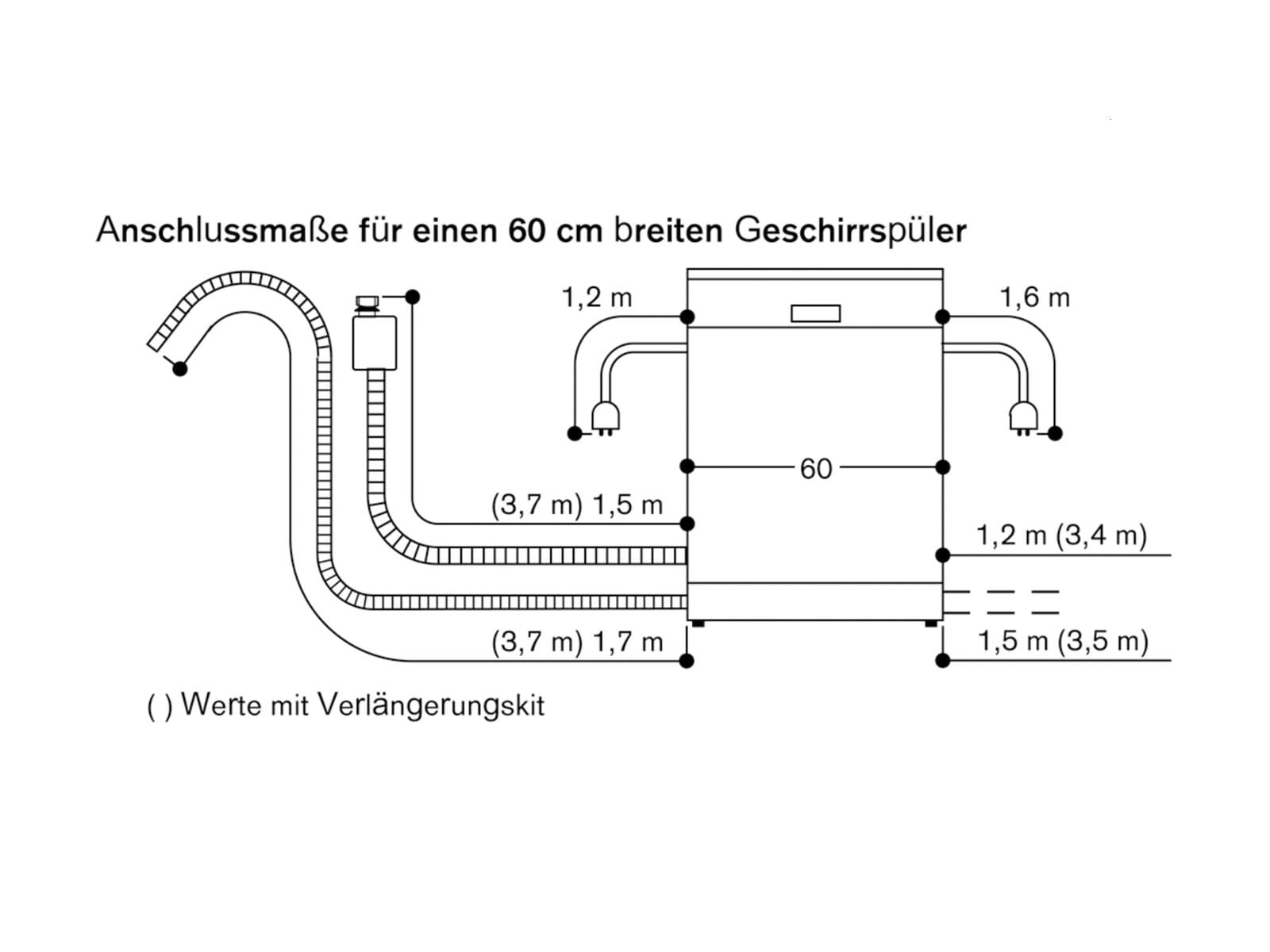Gaggenau DF 261 167 Serie 200 Vollintegrierbarer Einbaugeschirrspüler XXL
