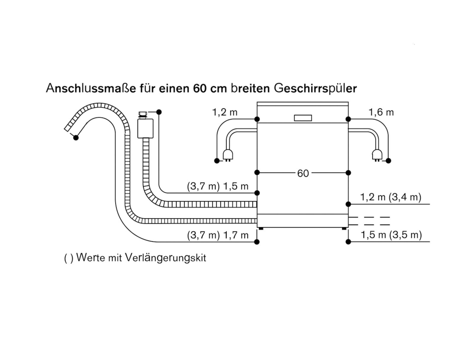 Gaggenau DF 270 160 Serie 200 Vollintegrierbarer Einbaugeschirrspüler