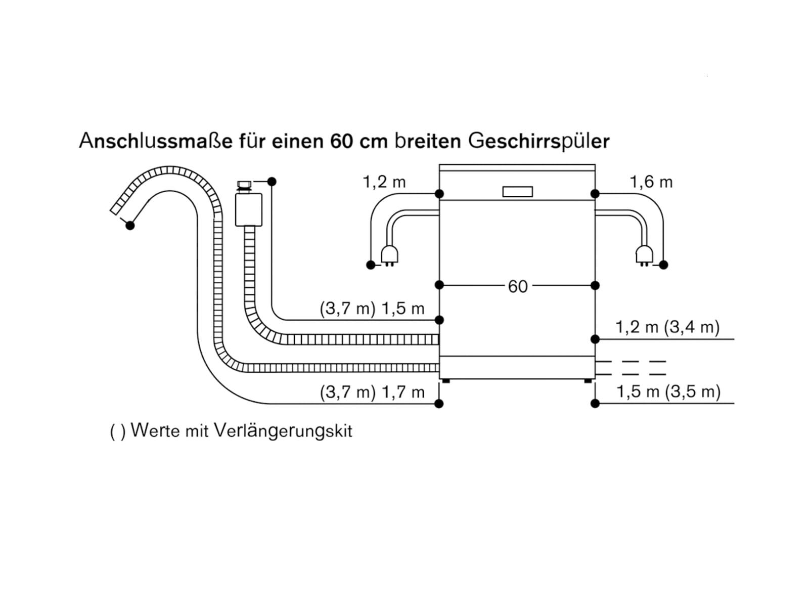 Gaggenau DF 270 160F Serie 200 Vollintegrierbarer Einbaugeschirrspüler