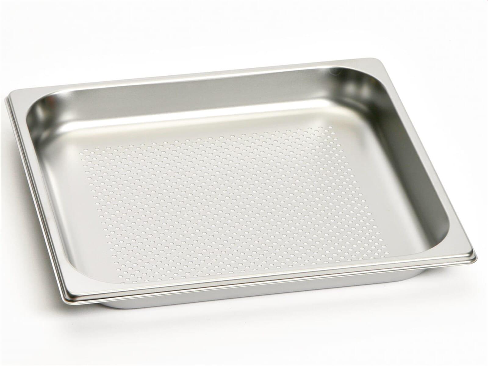 Gaggenau GN 124 230 Gastronorm-Behälter GN 2/3 gelocht Edelstahl