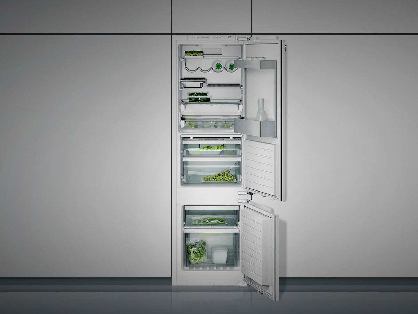 Side By Side Kühlschrank Gaggenau : Gaggenau rb serie einbau kühl gefrierkombination