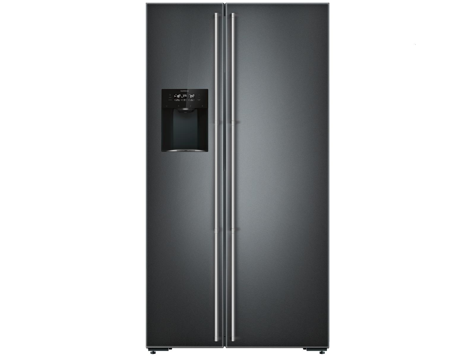 Gaggenau RS 295 355 Serie 200 Side by Side Kühl-Gefrierkombination Anthrazit