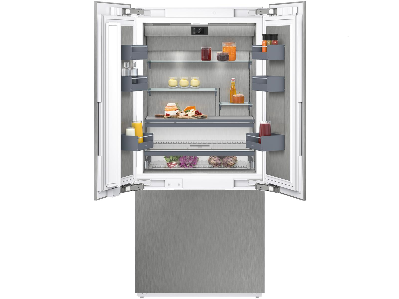 Side By Side Kühlschrank French Door : Gaggenau ry serie einbau side by side kühl gefrier