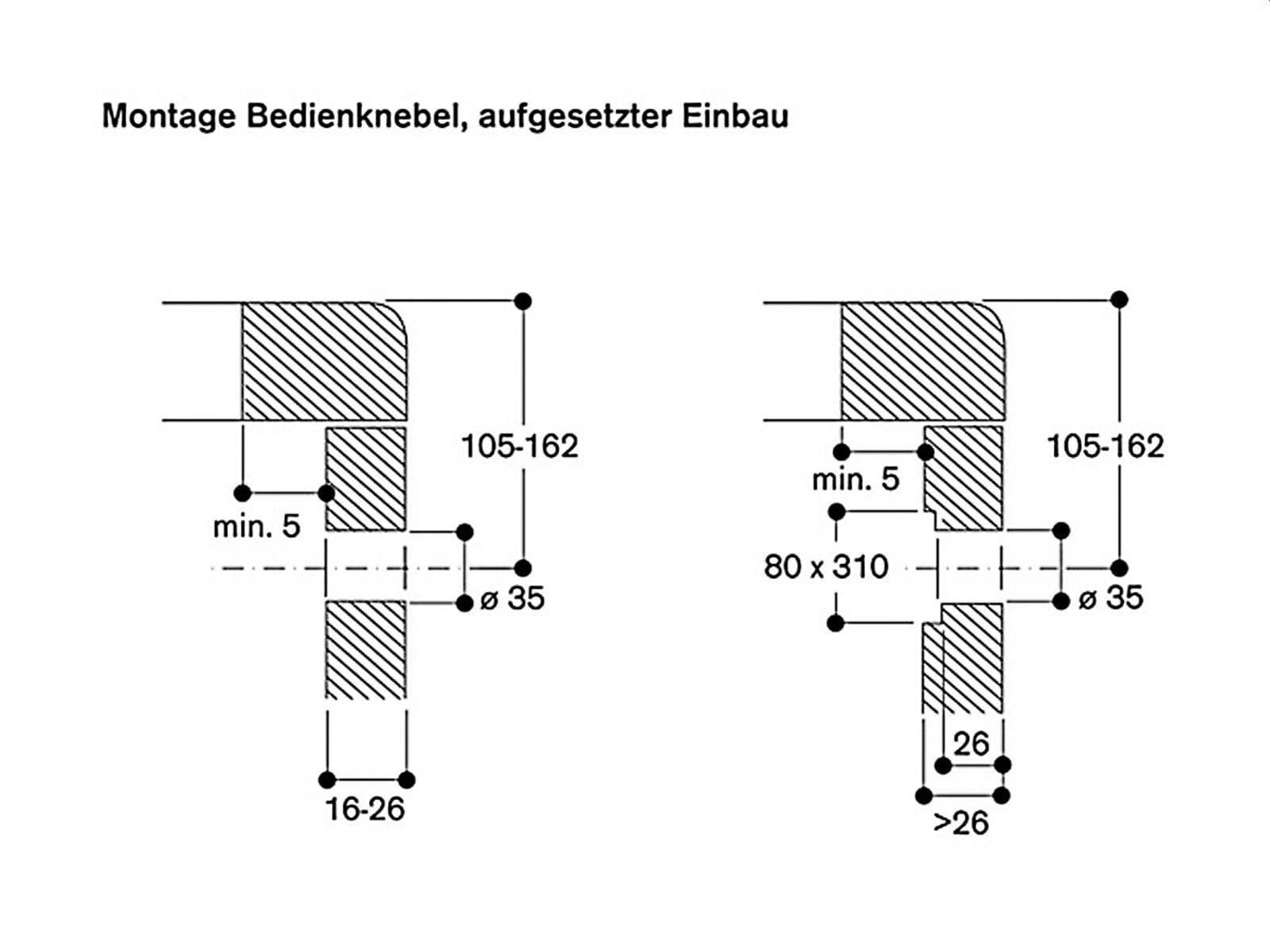 Gaggenau VF 414 110 Serie 400 Domino Fritteuse Edelstahl