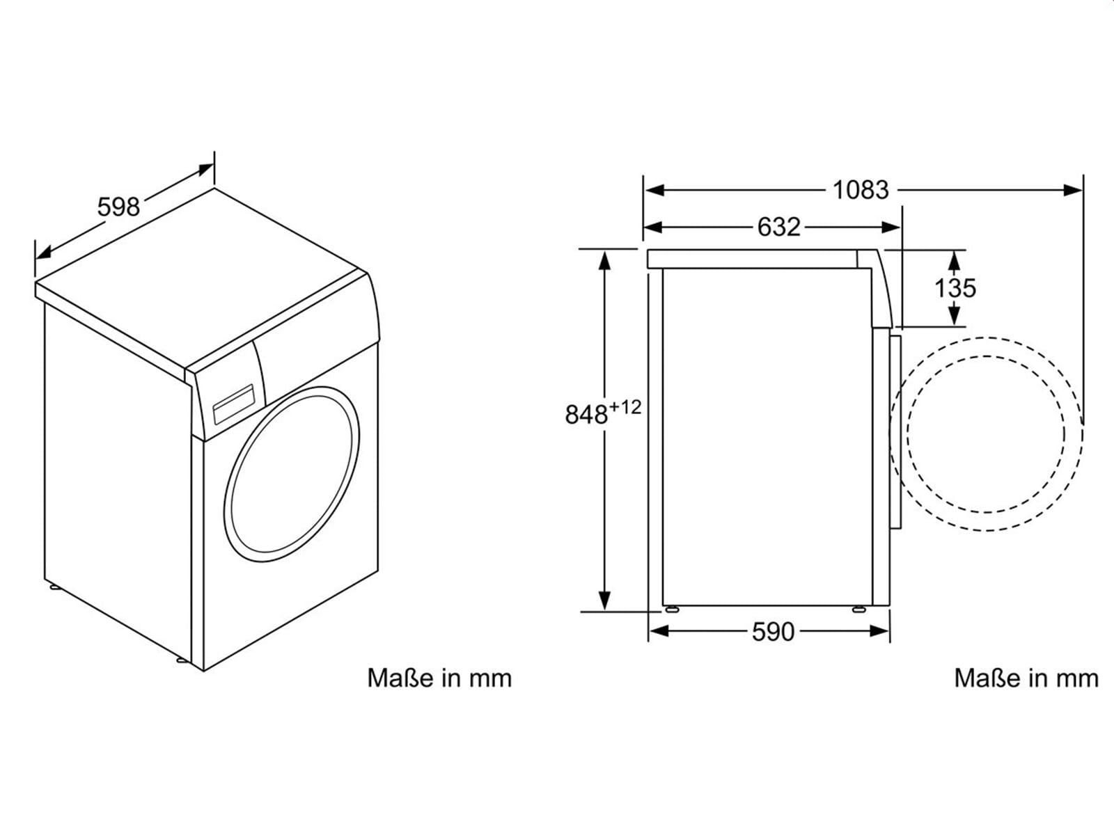 gaggenau wm 260 162 waschmaschine wei. Black Bedroom Furniture Sets. Home Design Ideas