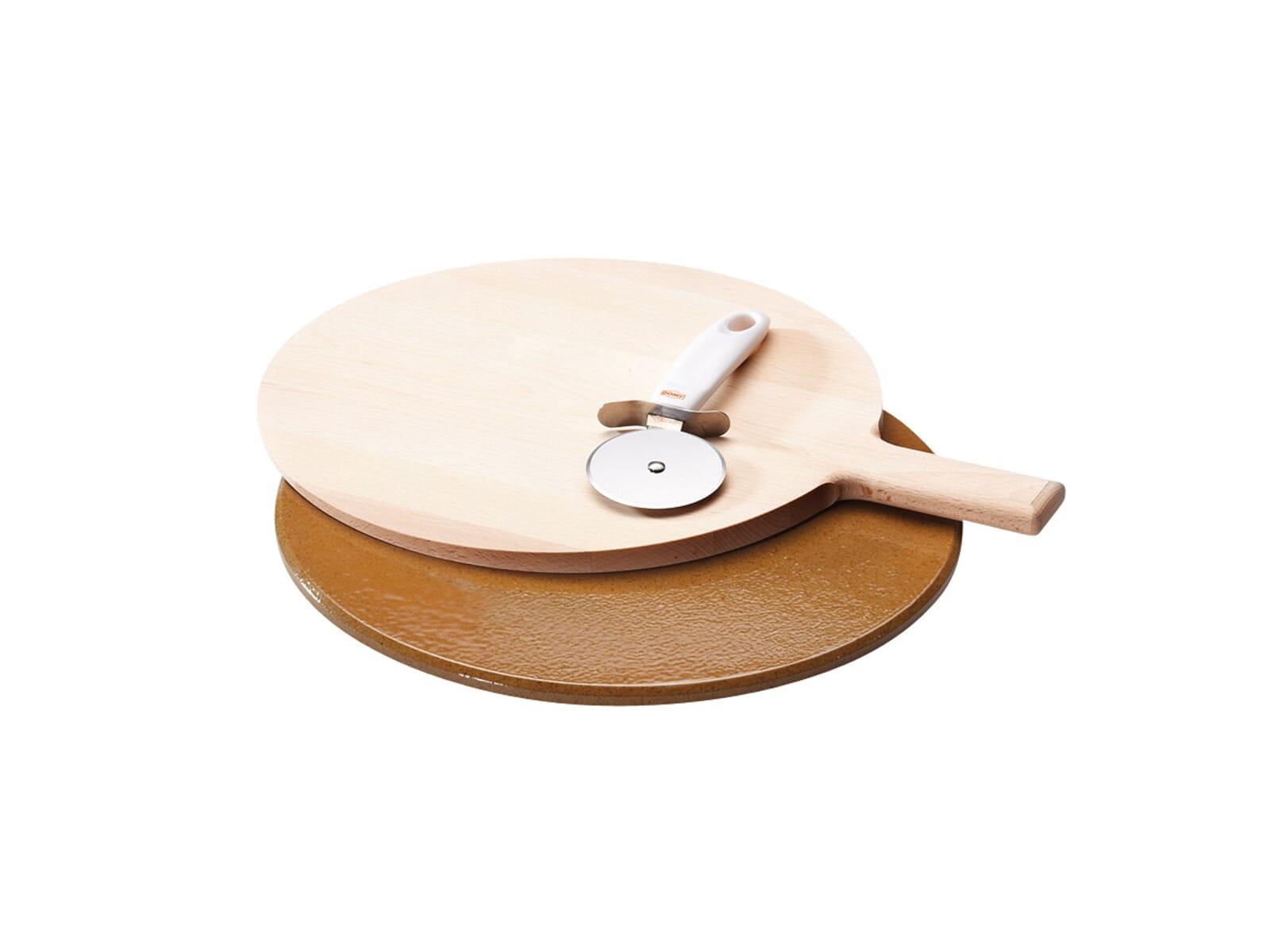 Mit dem Gorenje 116814 Pizza-Set backen Sie Ihre Pizza wie in einem traditionellen Steinbackofen.