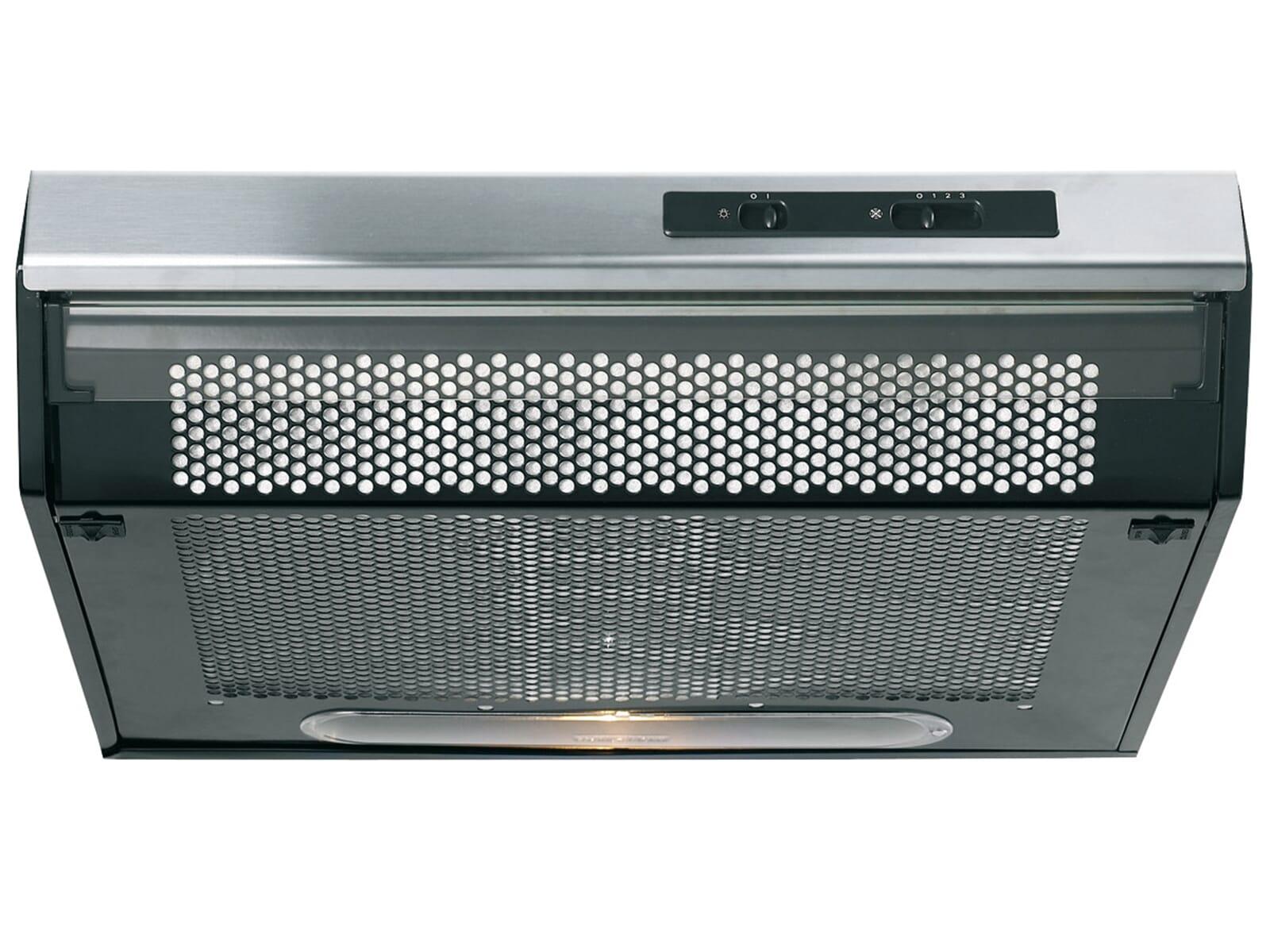 Die Gorenje DU 6111 E Unterbau Dunstabzugshaube befreit Ihre Küche zuverlässig von Kochdampf und sorgt stets für reine Luft.