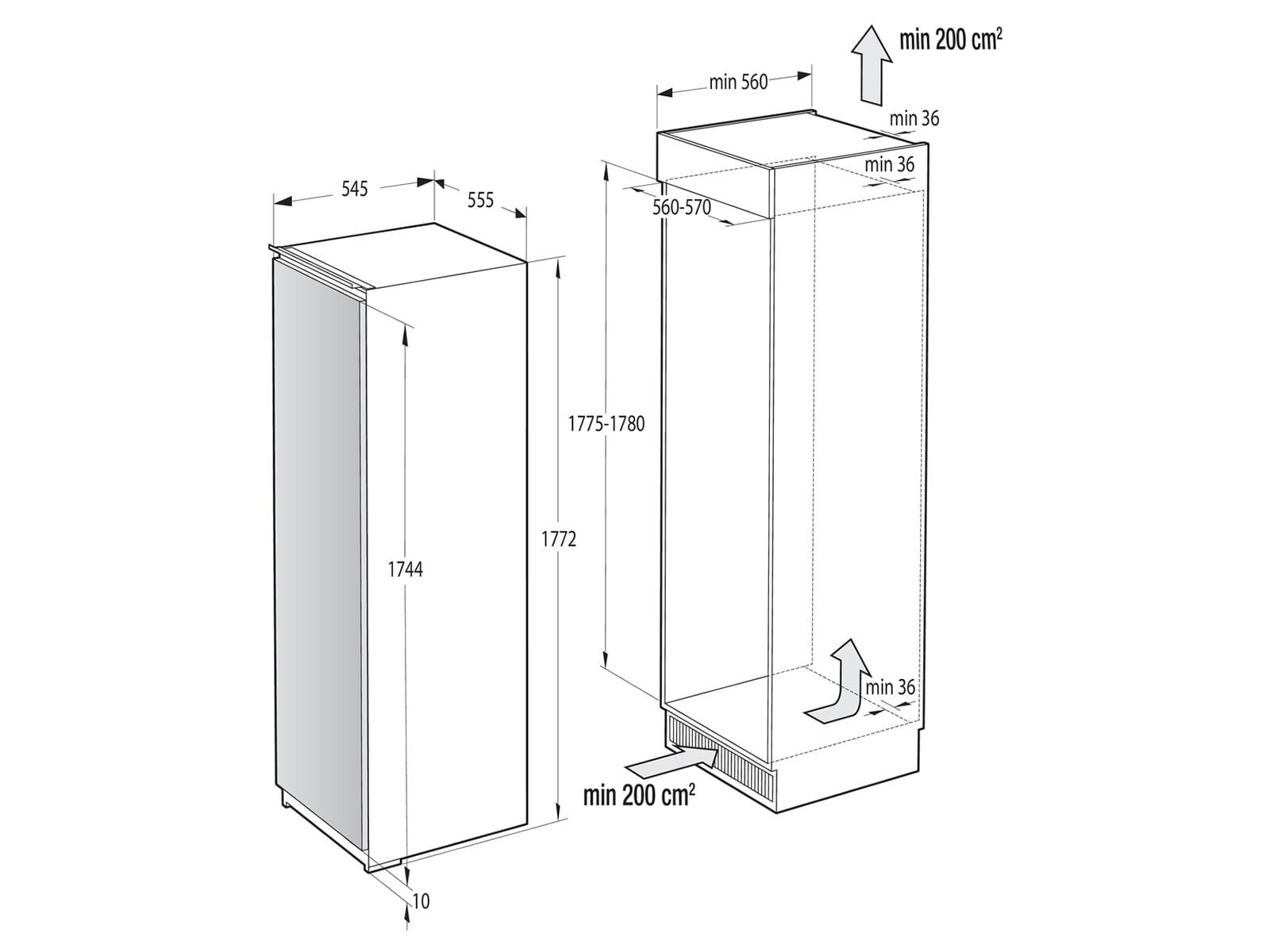Gorenje RI 5182 E1 Einbaukühlschrank