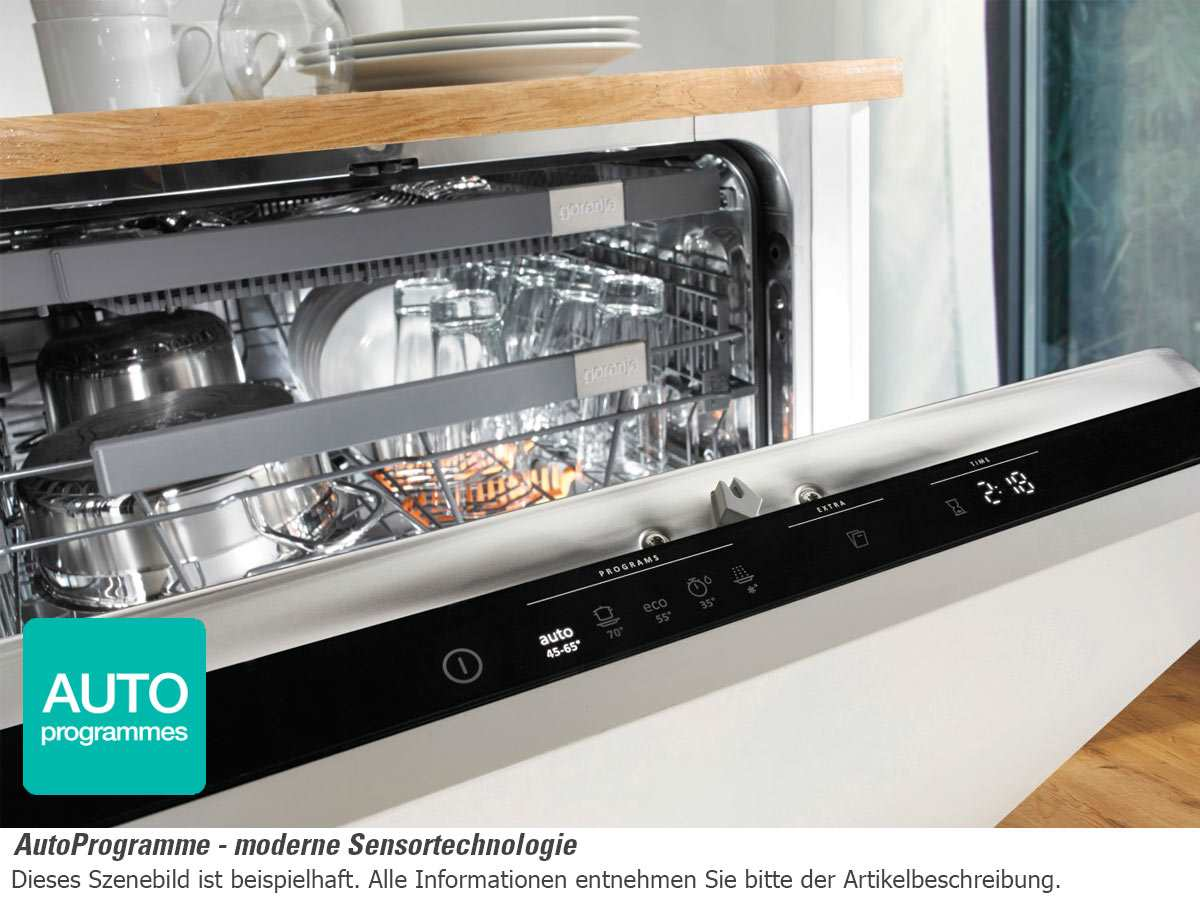 gorenje gi 65160 s teilintegrierbarer einbaugeschirrsp ler. Black Bedroom Furniture Sets. Home Design Ideas
