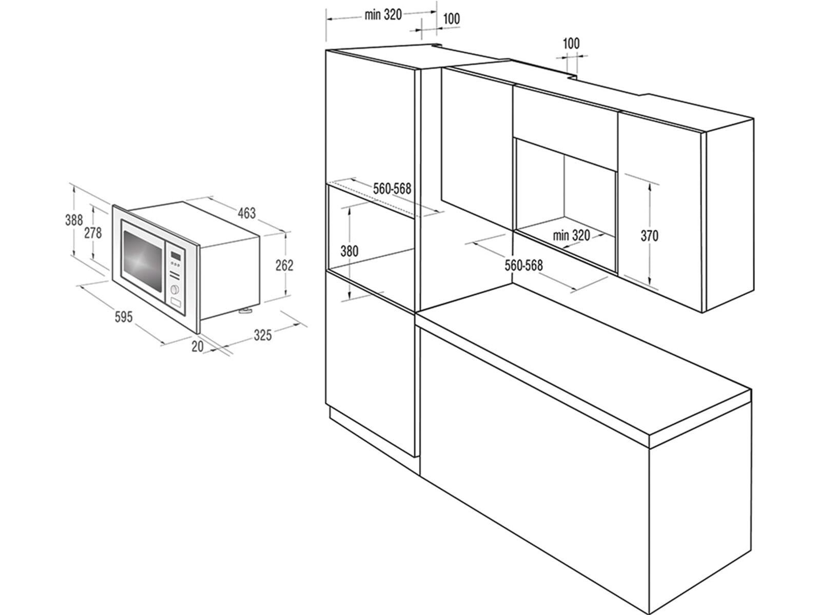 gorenje bm 171 d3x einbau mikrowelle edelstahl. Black Bedroom Furniture Sets. Home Design Ideas