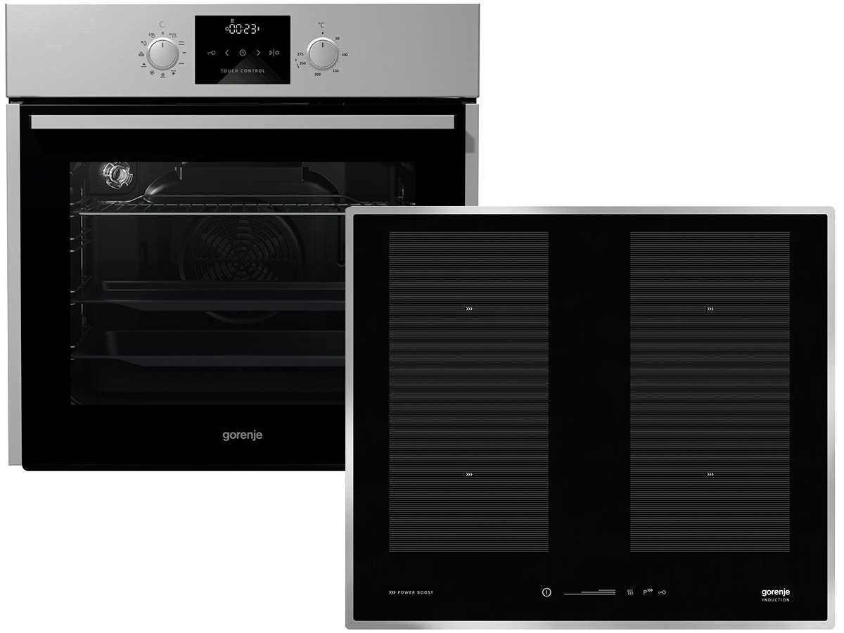 gorenje black pepper set c03 backofen bo 637 e13x induktionskochfeld is 656 x. Black Bedroom Furniture Sets. Home Design Ideas