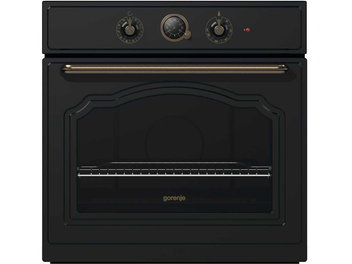 gorenje classico bo 73 clb backofen schwarz. Black Bedroom Furniture Sets. Home Design Ideas