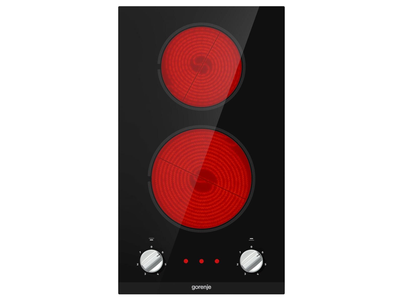 Gorenje EC 321 BCSC Domino Glaskeramik-Kochfeld autark
