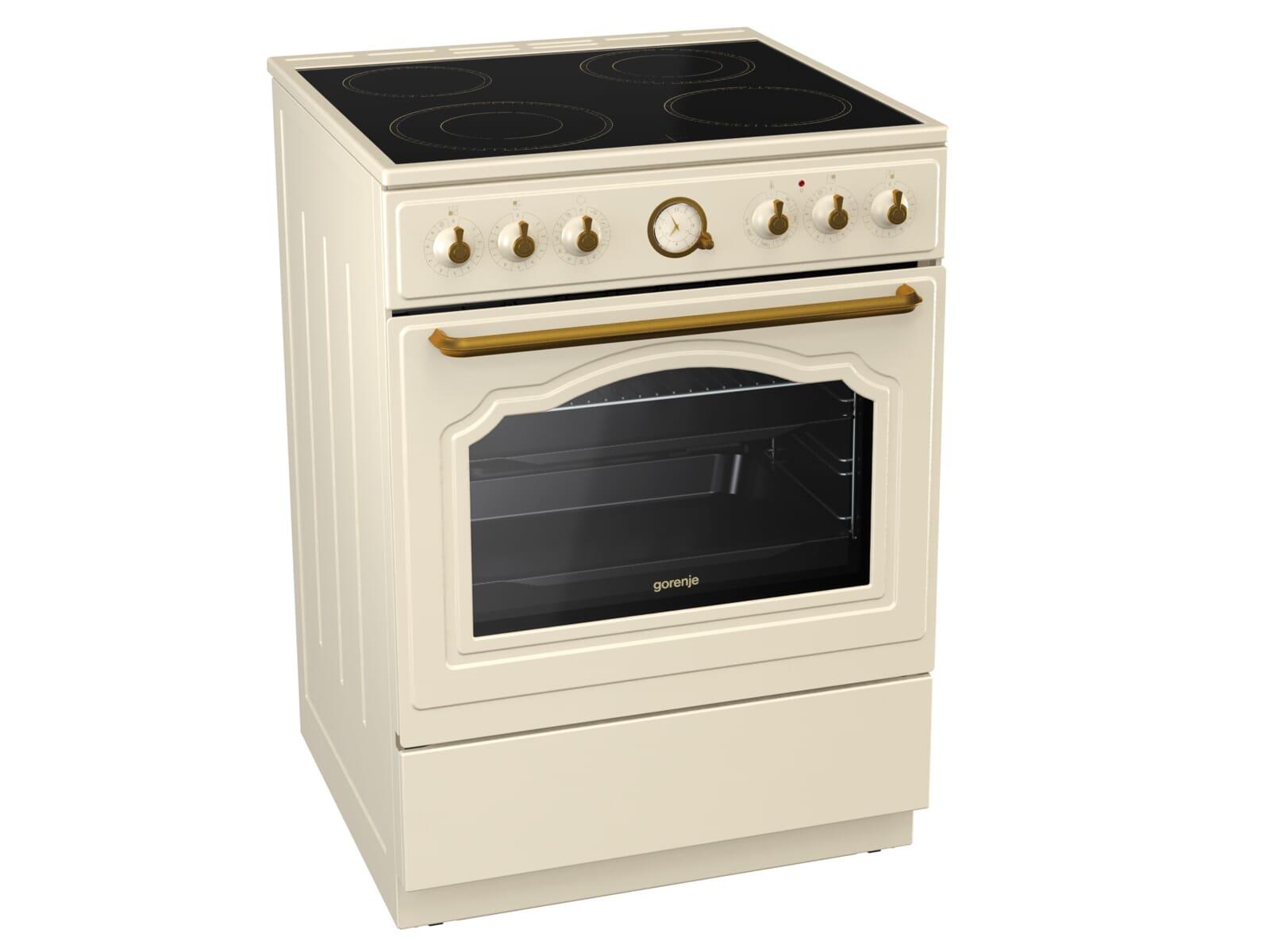 gorenje ec 62 cli classico standherd elfenbein. Black Bedroom Furniture Sets. Home Design Ideas