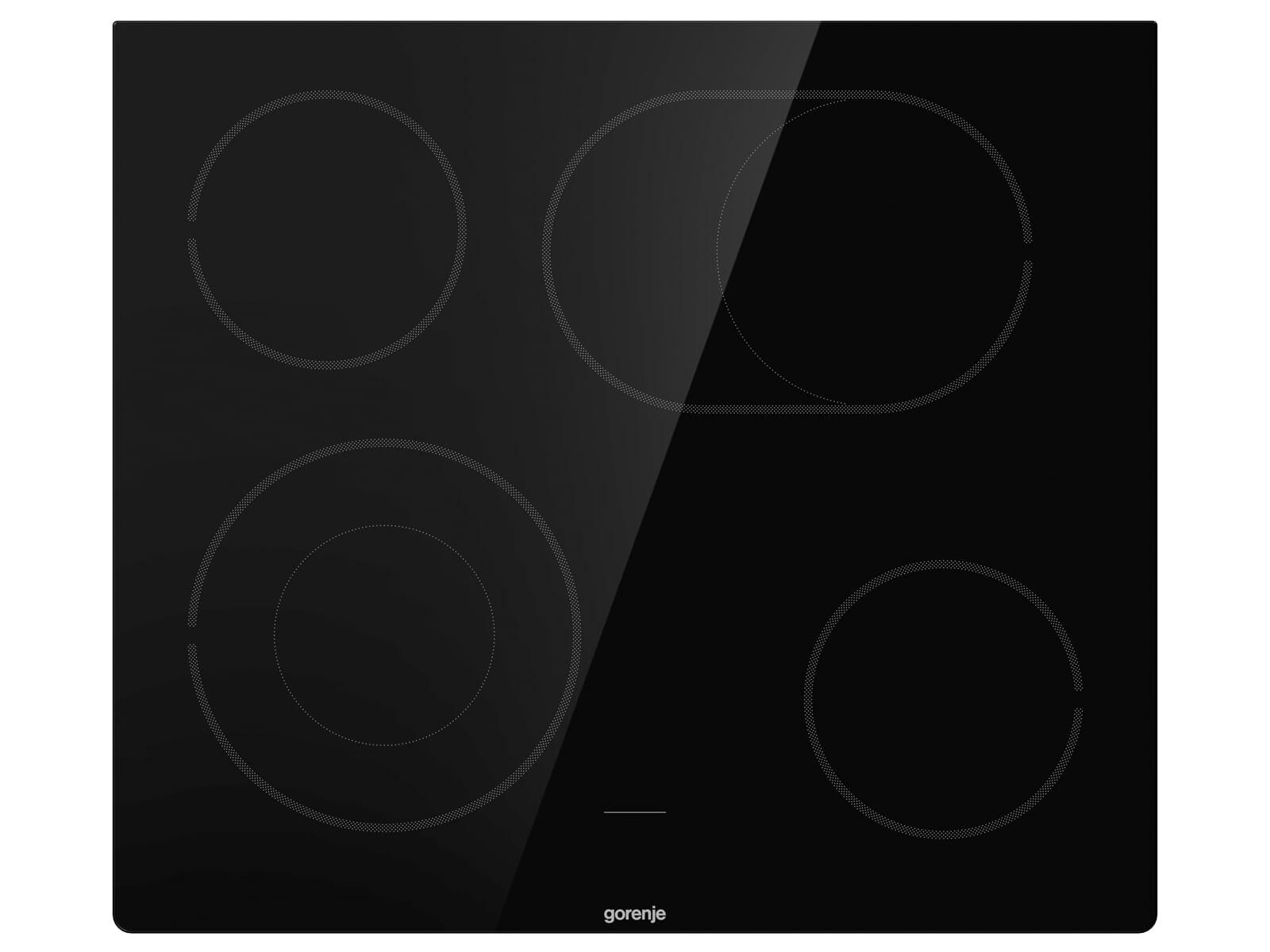 Gorenje New Jubi Set 3 Einbauherd BC 635 E19XK-2 + Glaskeramikkochfeld ECD 643 BSC