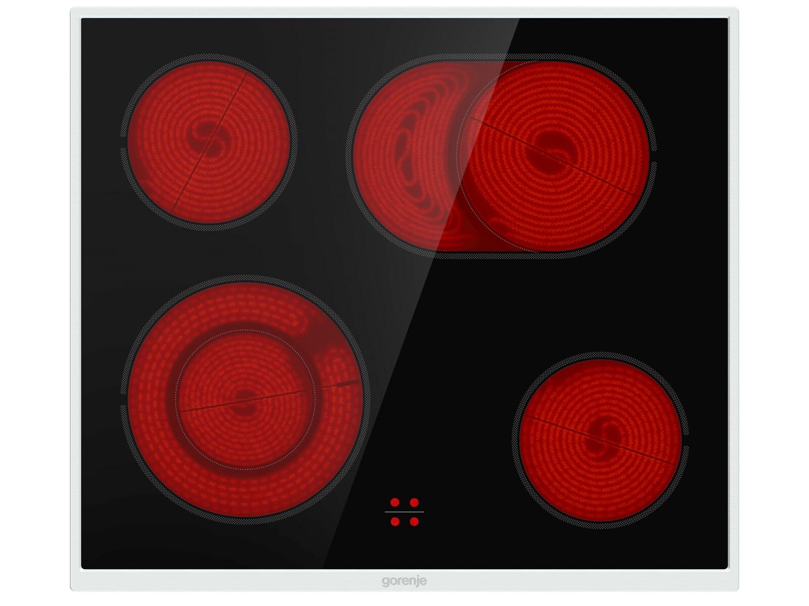 Gorenje Red Pepper Set 7N Einbauherd BC 615 E19XK-2 + Glaskeramikkochfeld ECD 643 BX