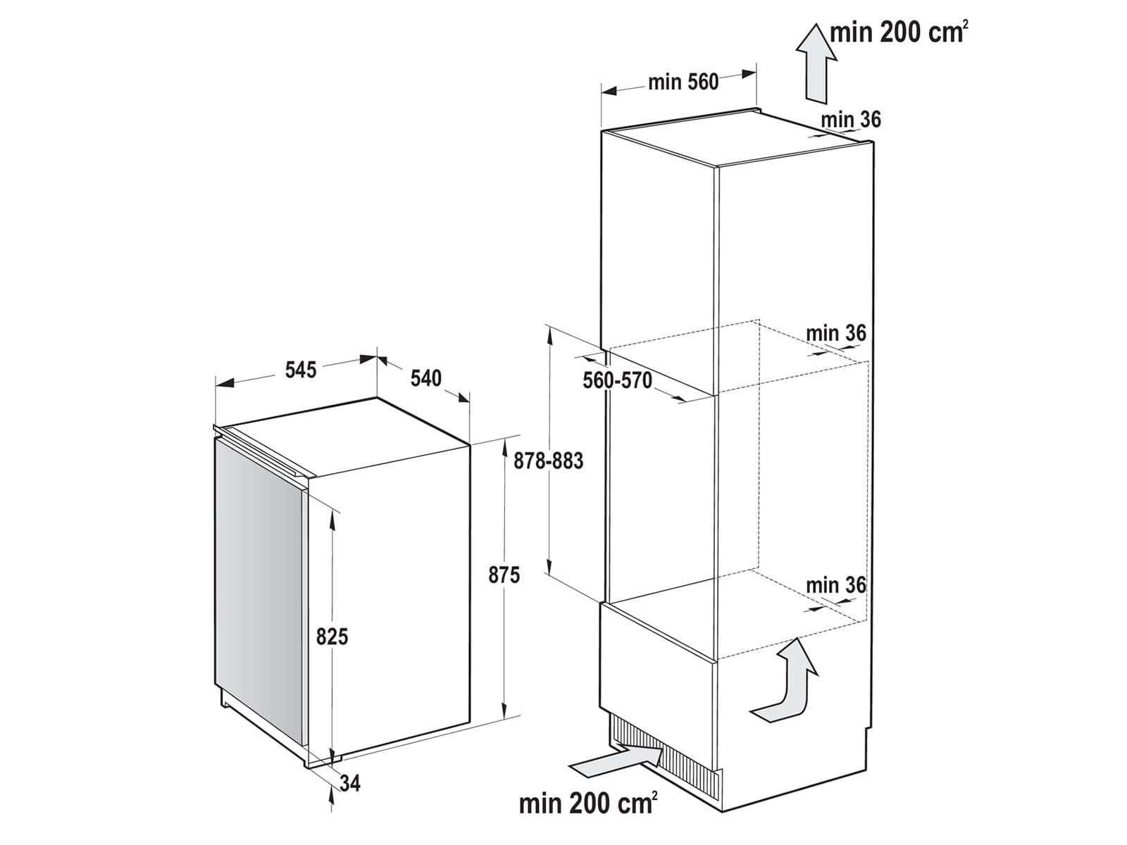 Gorenje FI 4091 E1 Einbaugefrierschrank