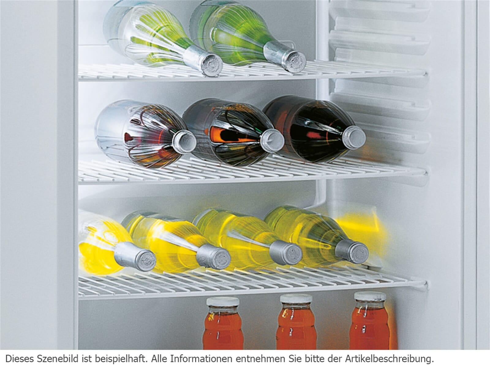 Die Flaschenablage schafft in Ihrem Flaschenschrank von Gorenje weitere rutschsichere Ablageflächen.