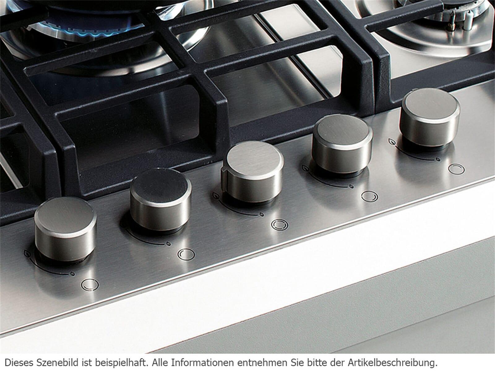 Gorenje G 340 UX Domino Edelstahl Gaskochfeld autark