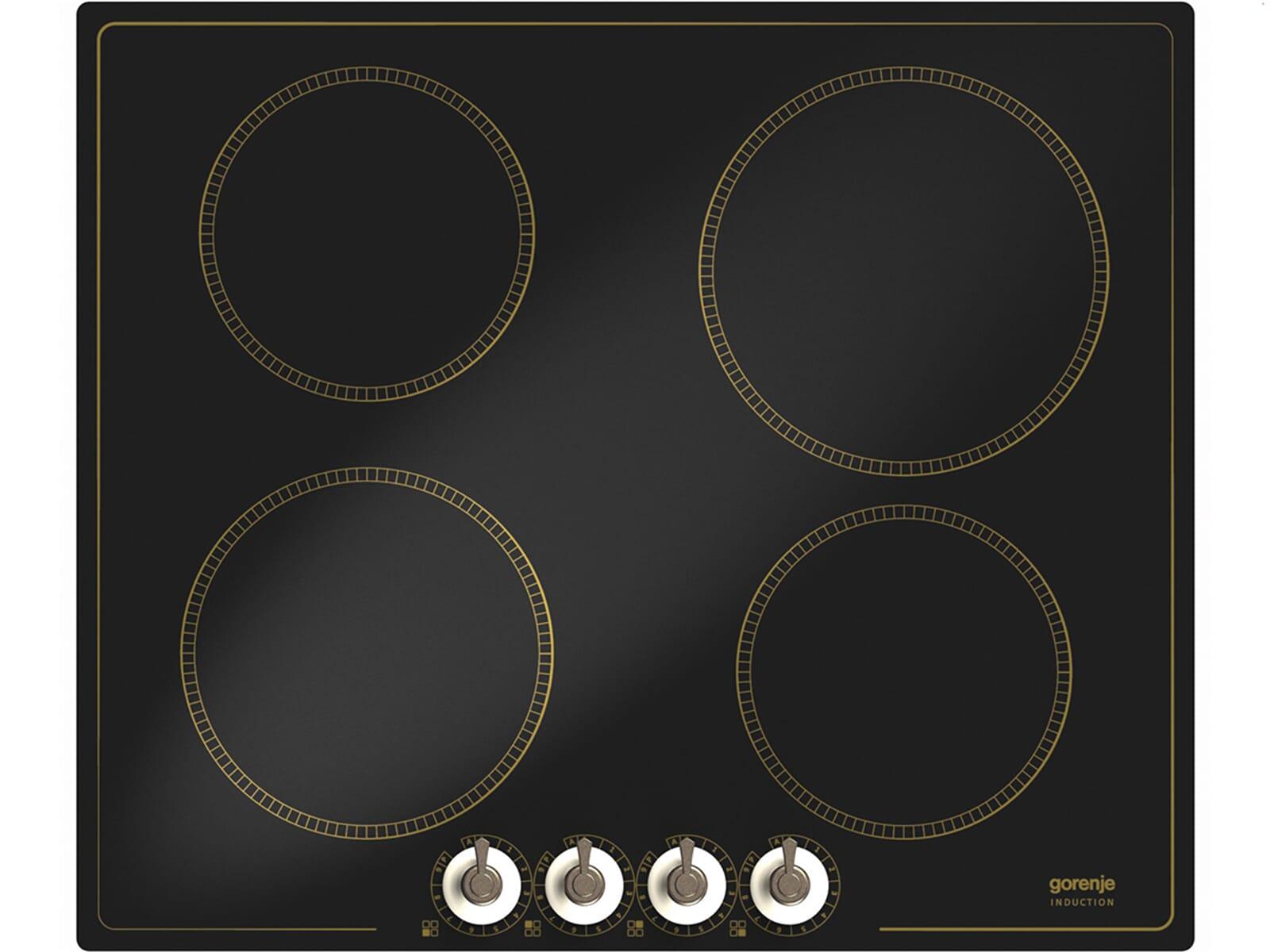 Das autarke Gorenje Classico IC 634 CLI Glaskeramikkochfeld mit Induktion bietet Ihnen fortschrittlichste Kochmethoden, vergisst den Charme alter Seite dabei aber nicht.