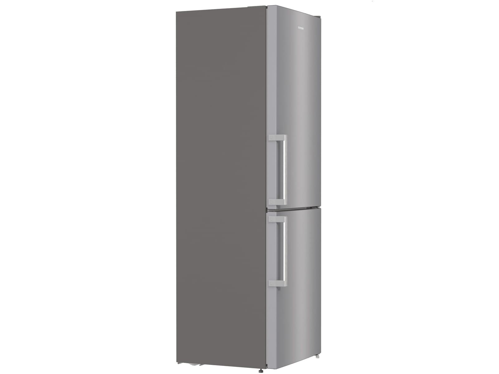 Gorenje NRK 6192 ES5F Kühl-Gefrier-Kombination Grau Metallic