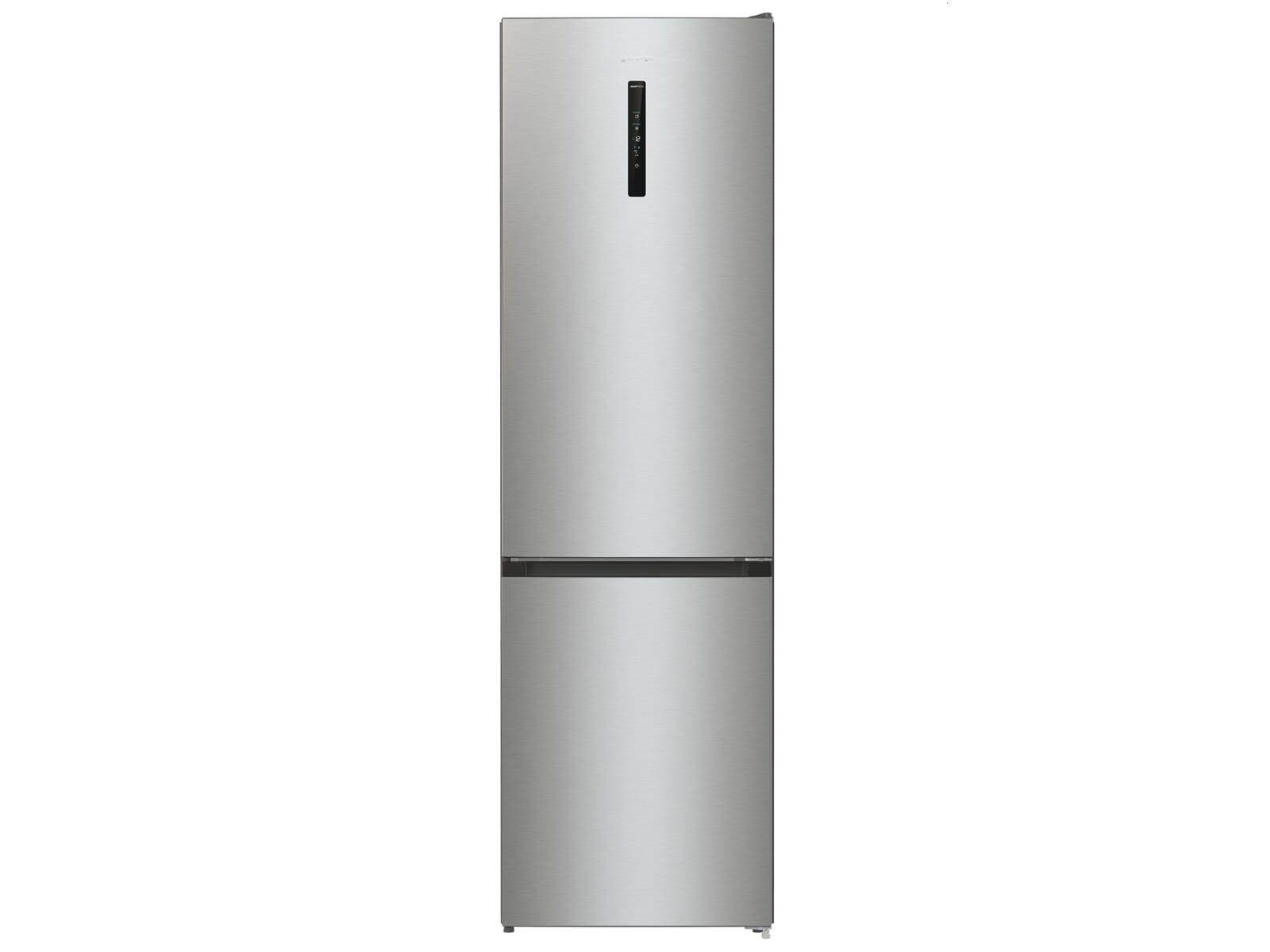 Gorenje NRK 6202 AXL4 Kühl-Gefrier-Kombination Grau Metallic