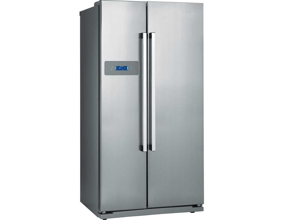 Side By Side Kühlschrank 60 Cm Tief : Gorenje nrs side by side kühl gefrier kombination inox