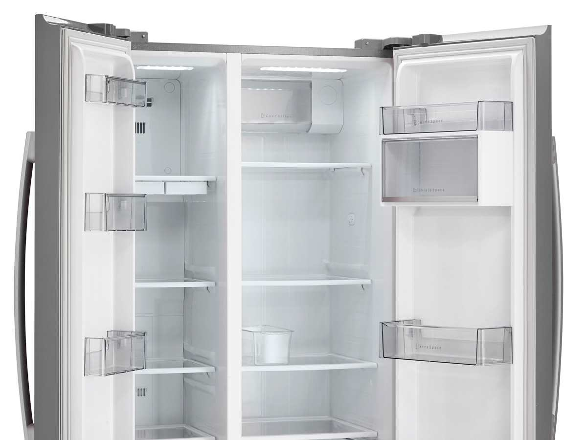 Side By Side Kühlschrank 4 Türig : Gorenje nrs bx side by side kühl gefrier kombination inox