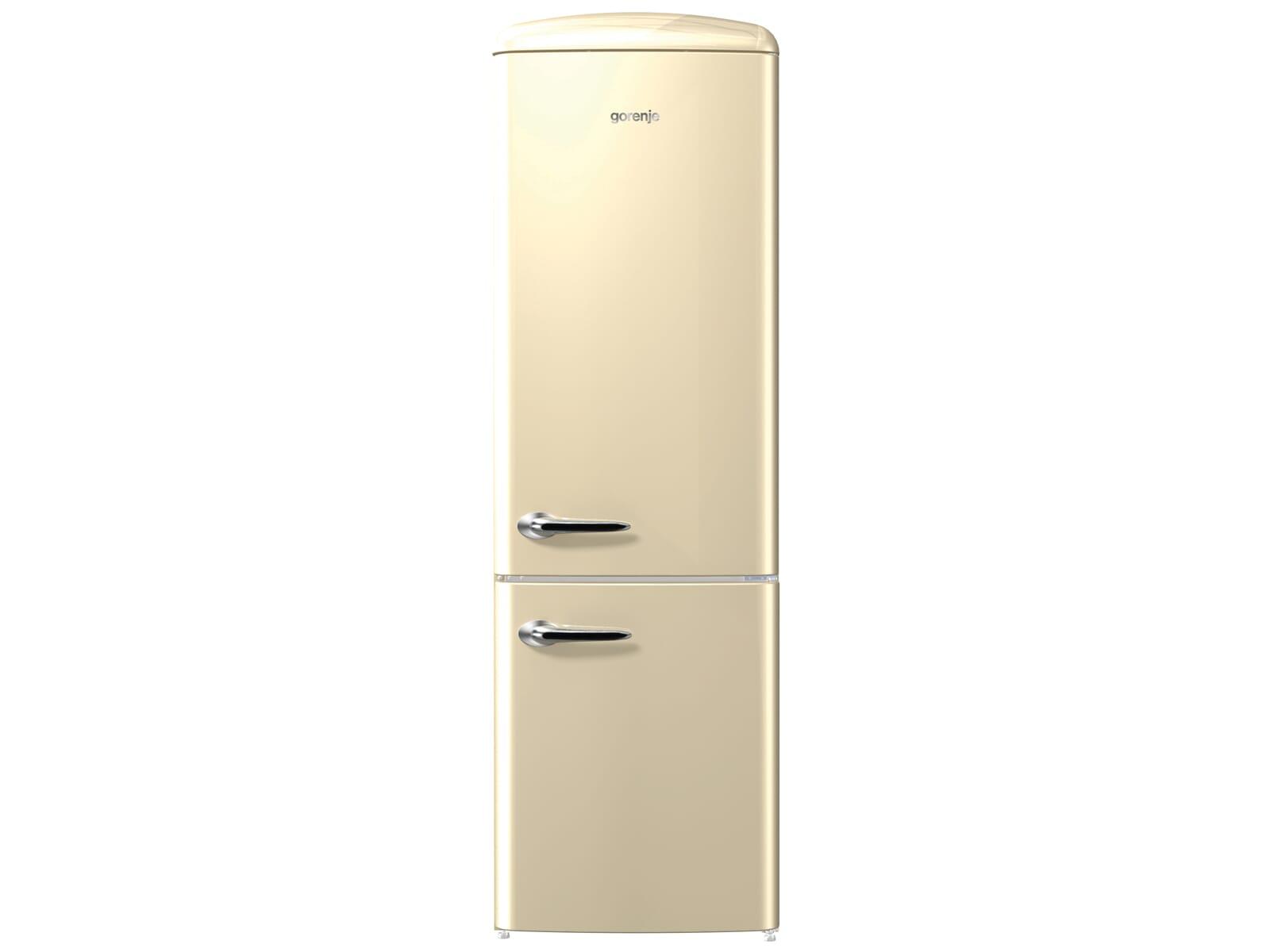 Gorenje Kühlschrank Ion Air : Gorenje onrk c kühl gefrierkombination champagne