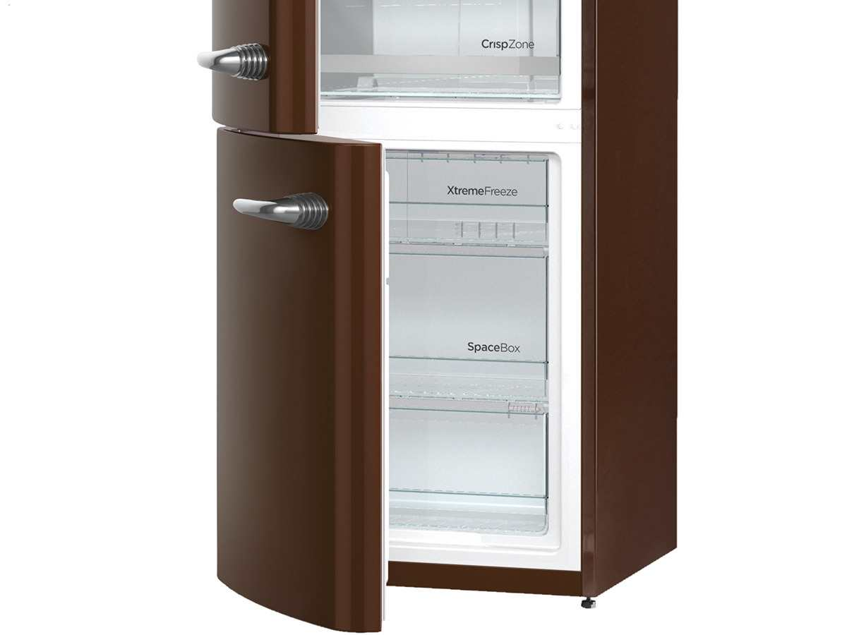 gorenje onrk 193 ch l k hl gefrierkombination dark chocolate ebay. Black Bedroom Furniture Sets. Home Design Ideas