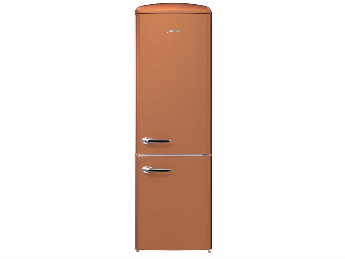 Gorenje ONRK 193 CR Kühl-Gefrierkombination Copper