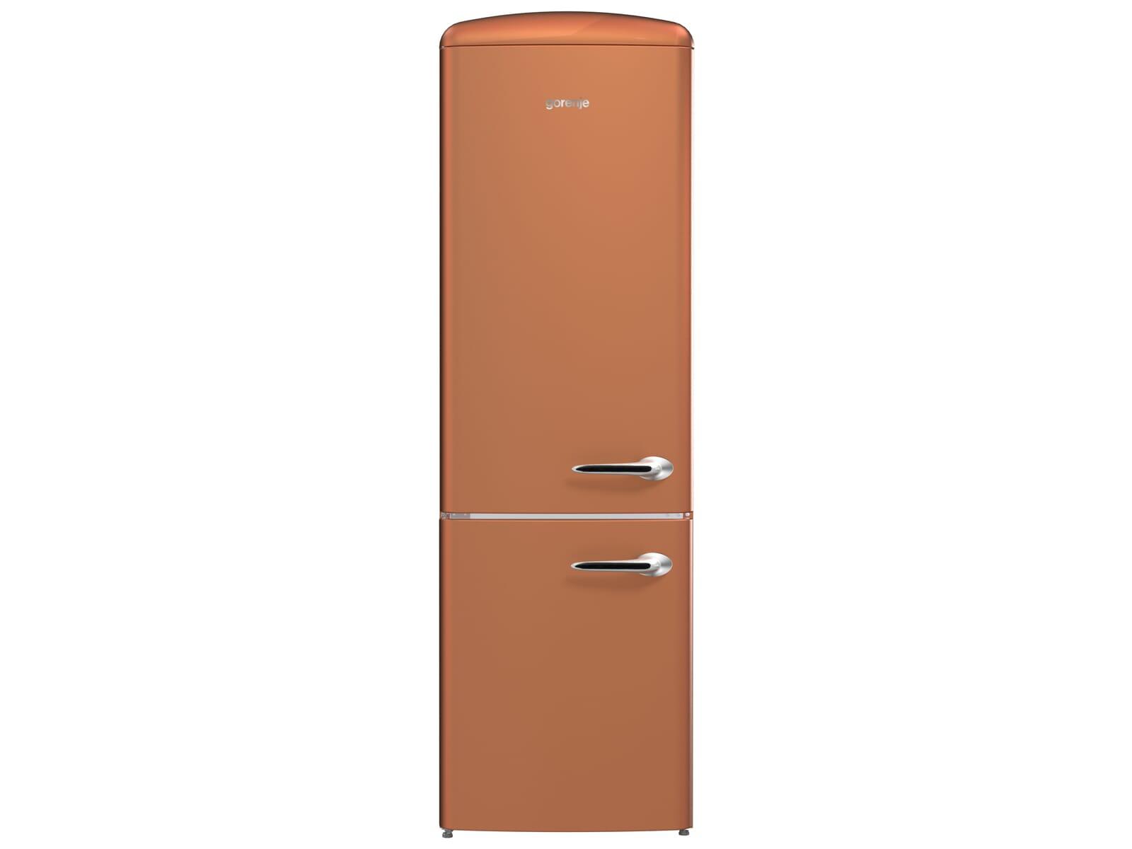 Gorenje Kühlschrank Onrk : Gorenje onrk cr l kühl gefrierkombination copper