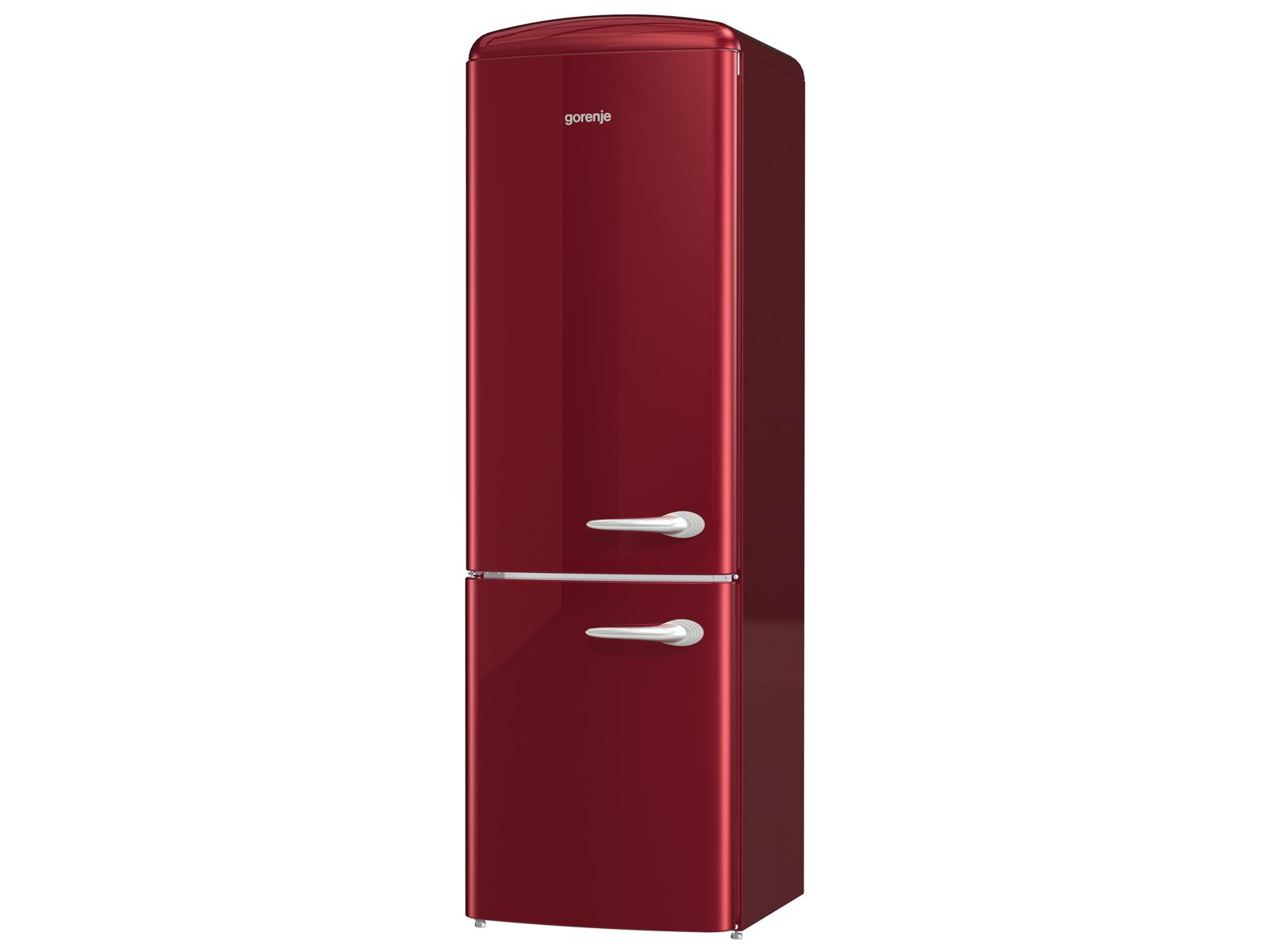 gorenje onrk 193 r l k hl gefrierkombination burgundy. Black Bedroom Furniture Sets. Home Design Ideas
