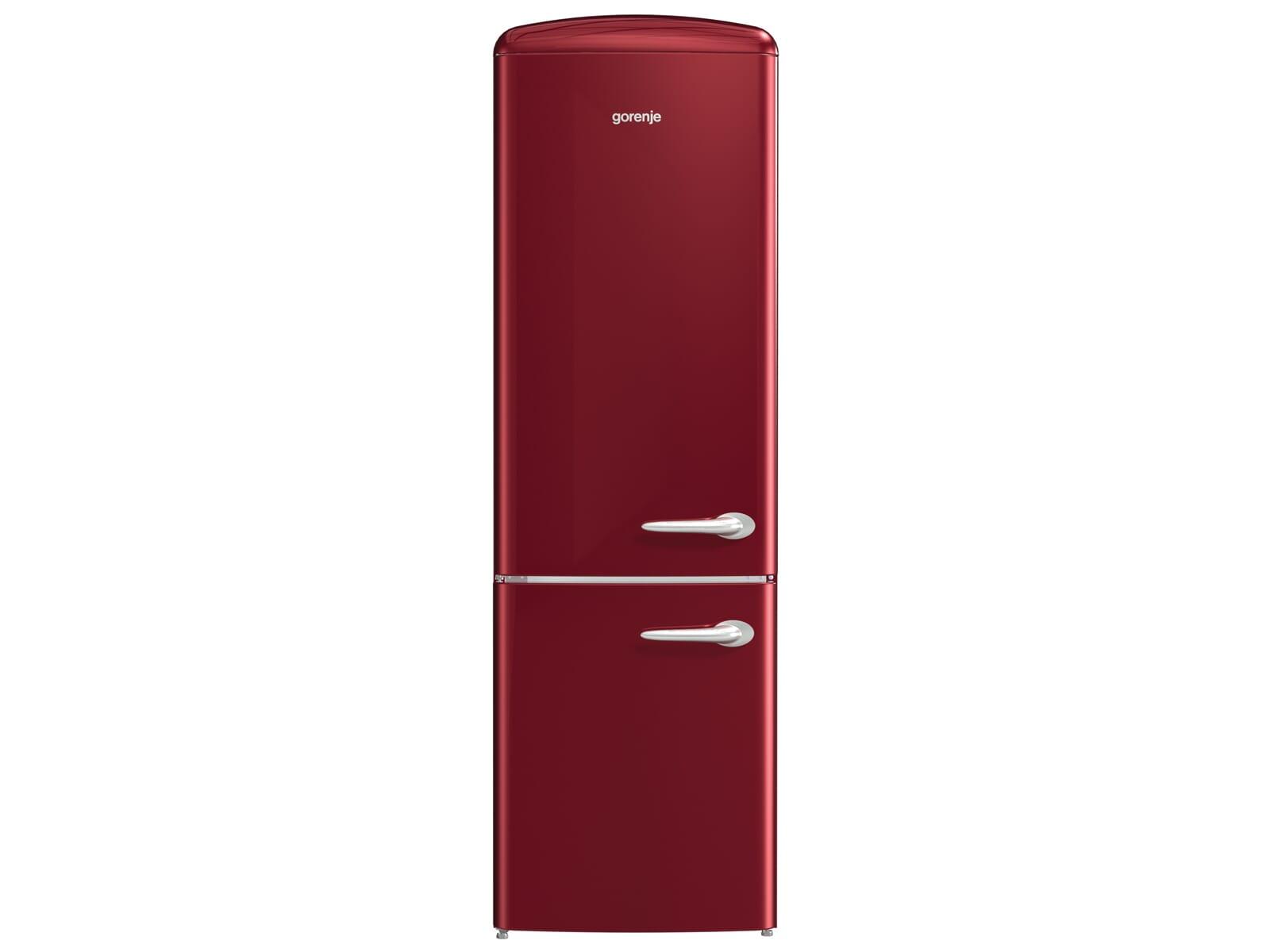 Gorenje Kühlschrank Seriennummer : Gorenje onrk r l kühl gefrierkombination burgundy