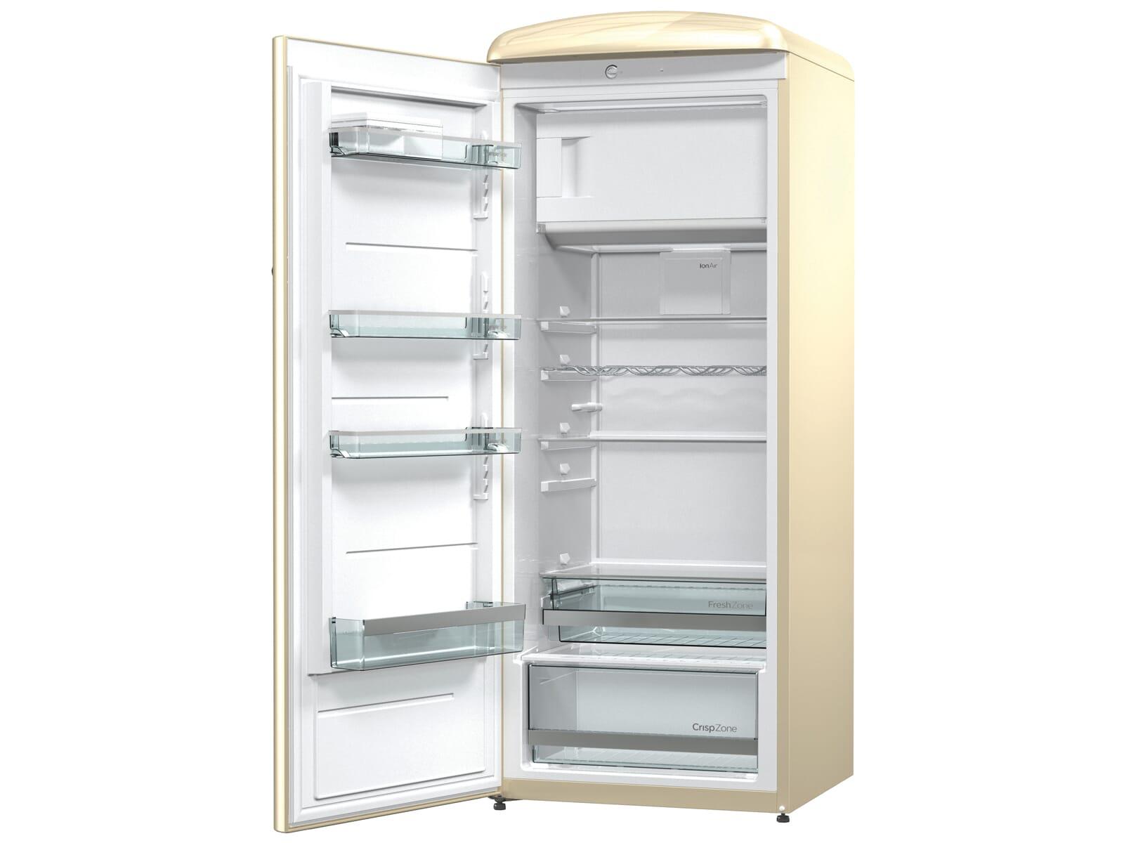 Gorenje Kühlschrank Ion Air : Gorenje orb c l standkühlschrank champagne