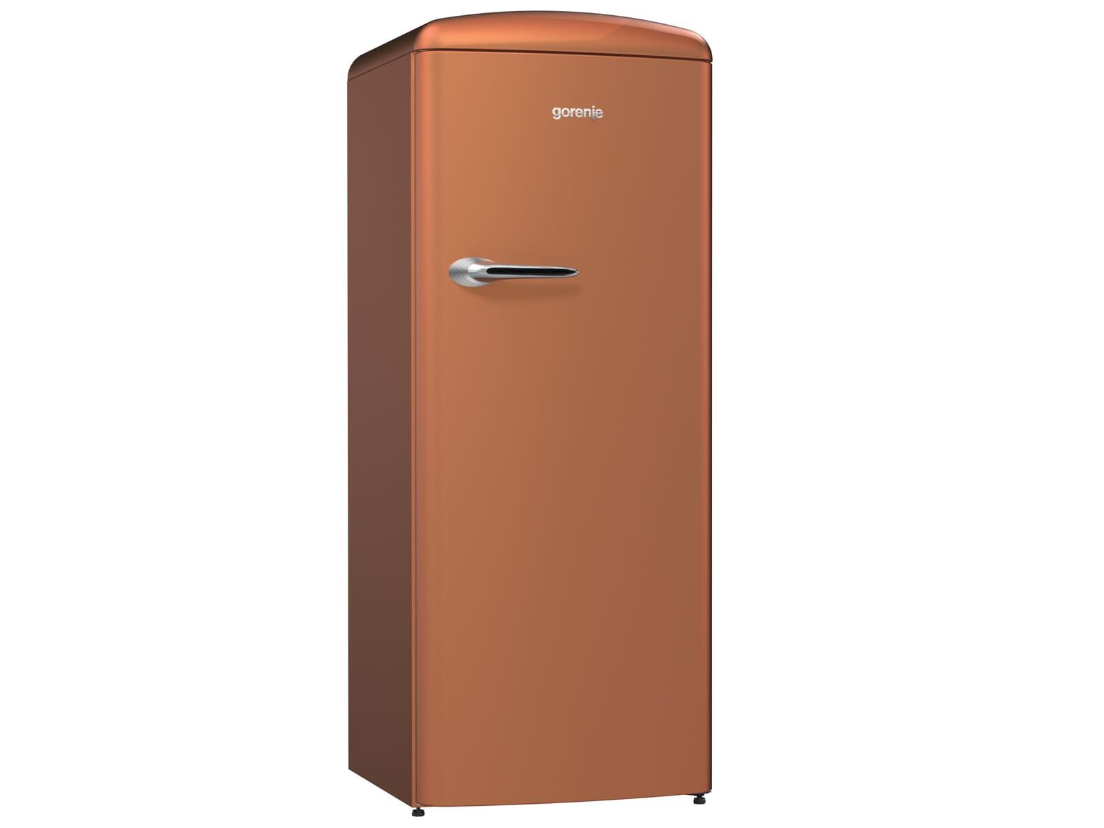 Gorenje ORB 153 CR Standkühlschrank Copper