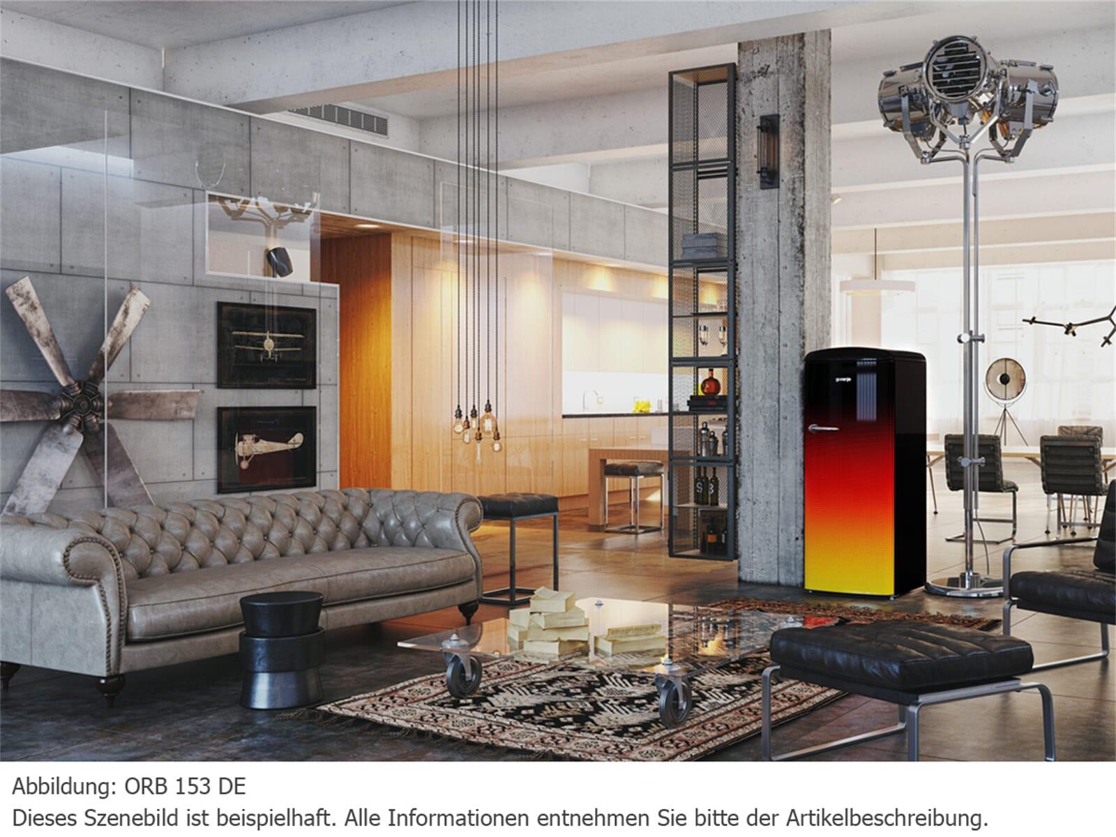 Gorenje ORB 153 DE Standkühlschrank SpecialEdition Deutschland