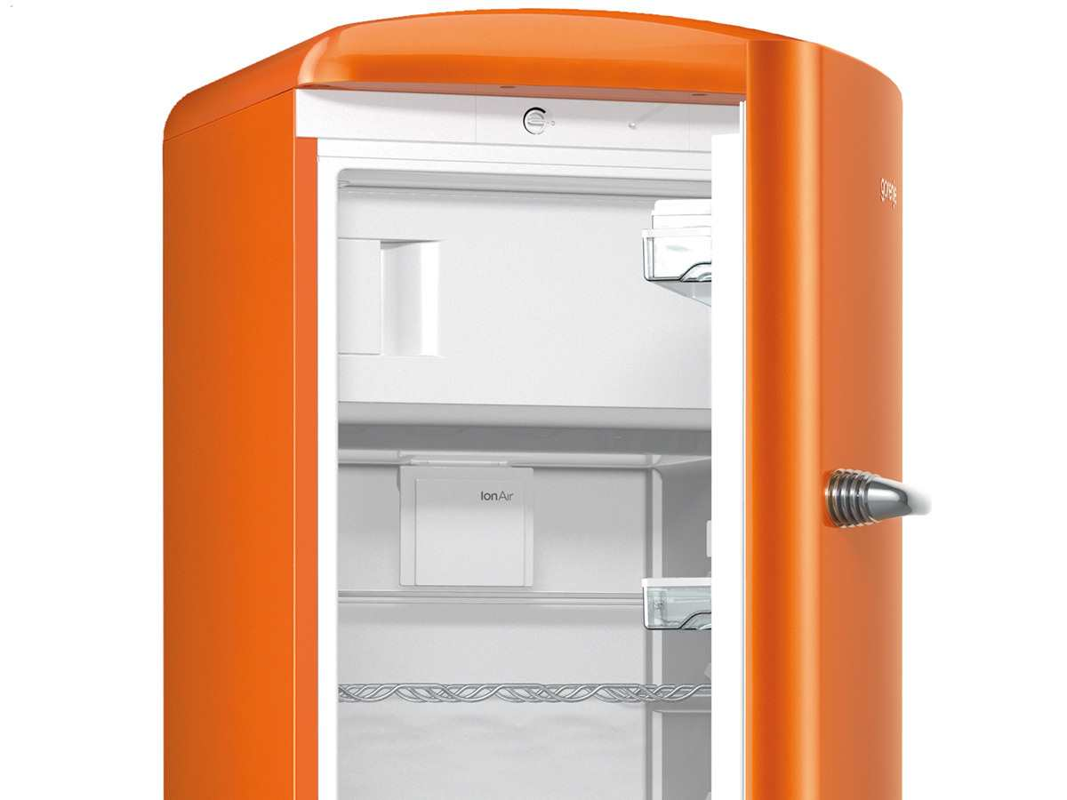 Gorenje Retro Kühlschrank Orange : Gorenje orb o standkühlschrank juicy orange ebay