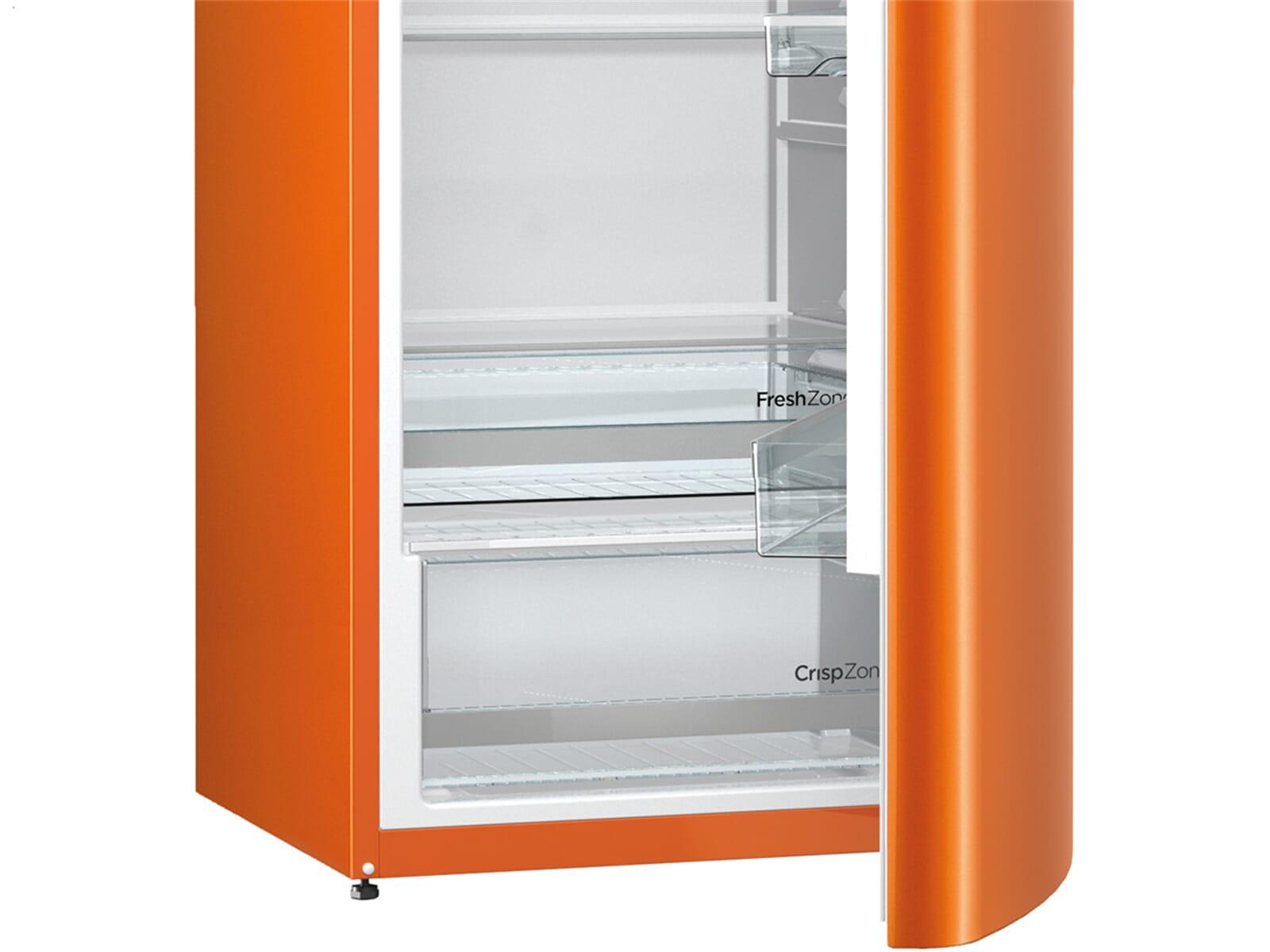 Gorenje Kühlschrank Orange : Gorenje orb o standkühlschrank juicy orange ebay