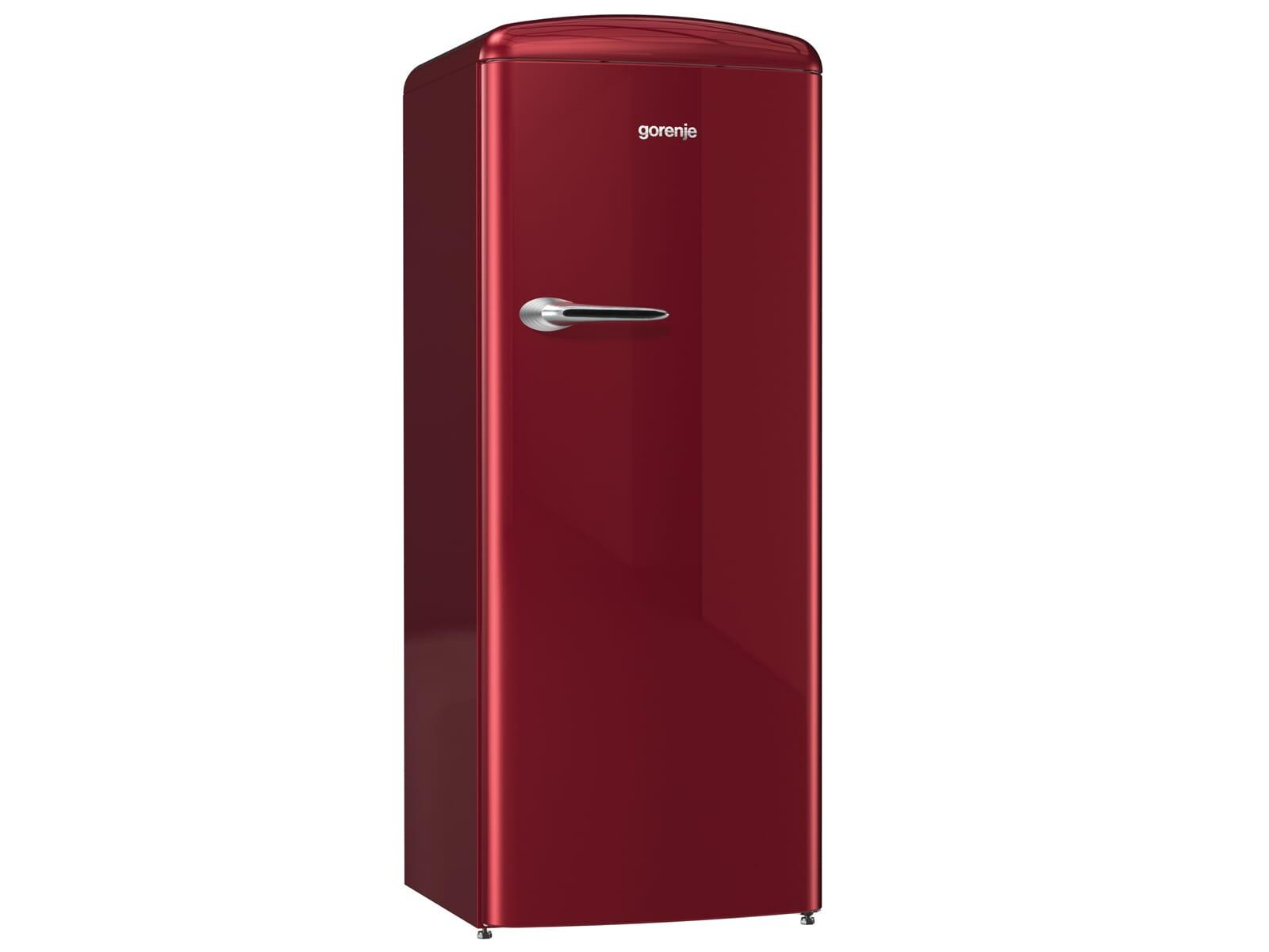 Gorenje Kühlschrank Ist Laut : Gorenje orb r standkühlschrank burgundy
