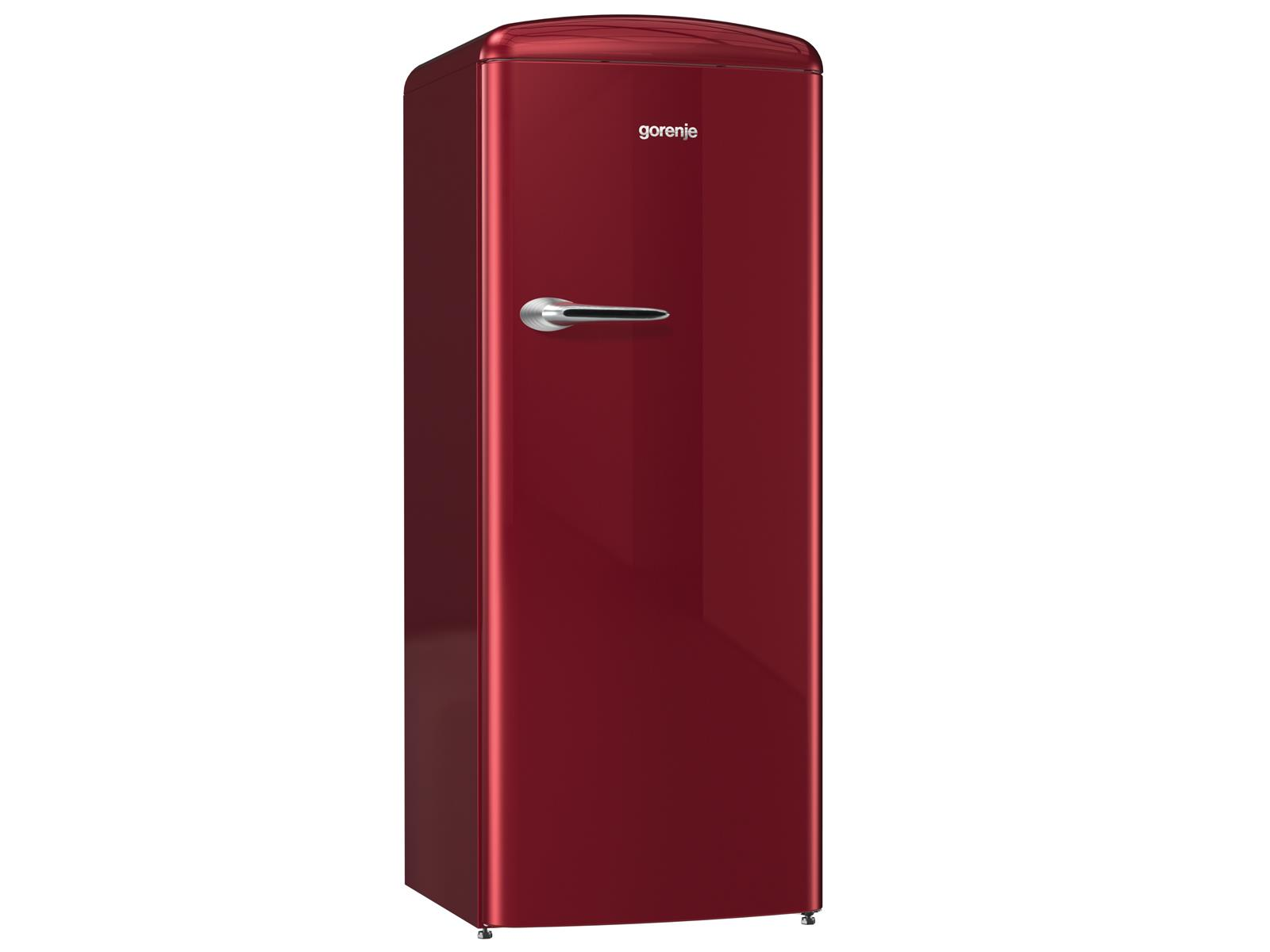 Gorenje Kühlschrank Orb153r : Gorenje orb r standkühlschrank burgundy