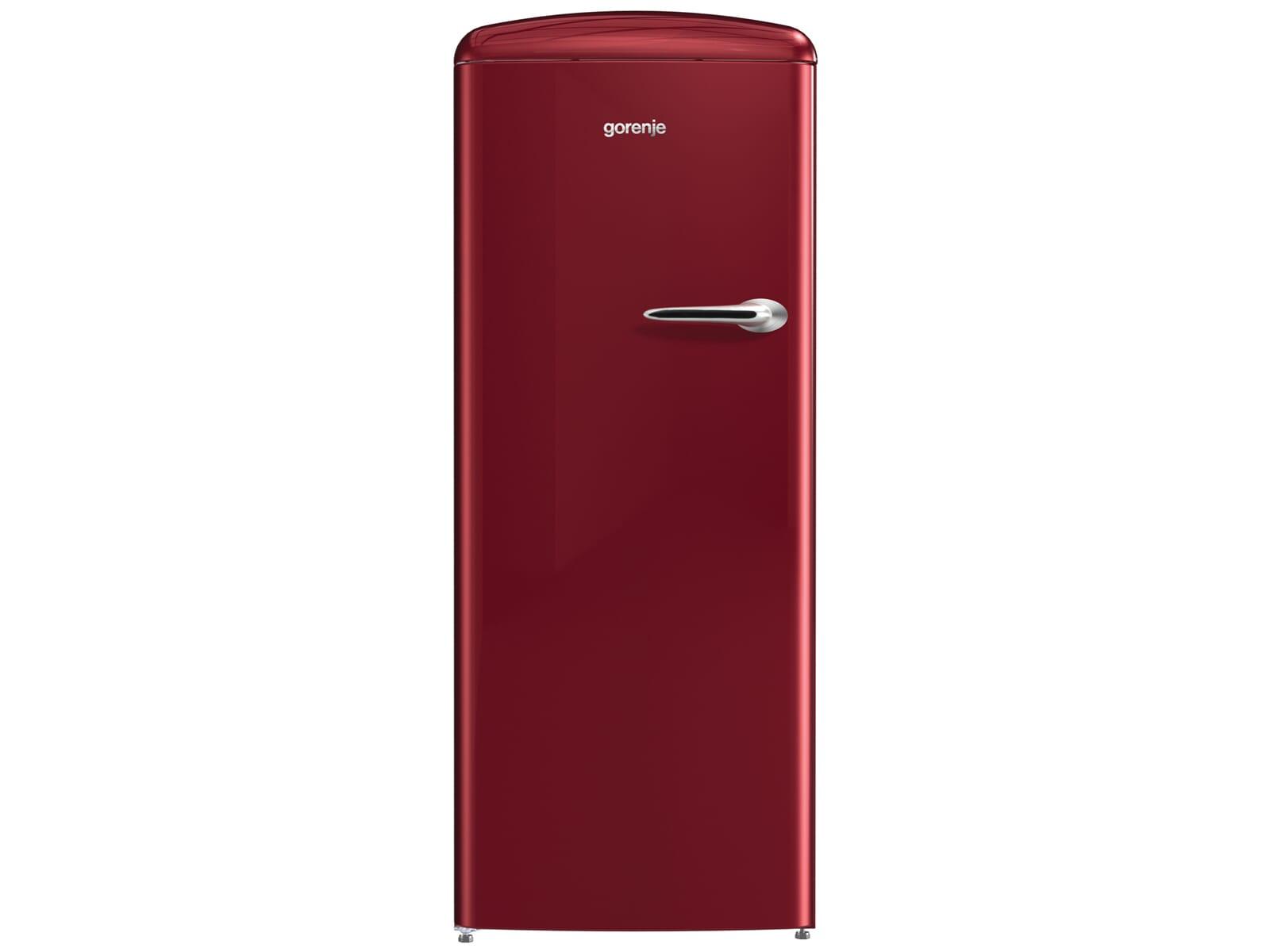 Gorenje Kühlschrank Orb153r : Gorenje orb r l standkühlschrank burgundy