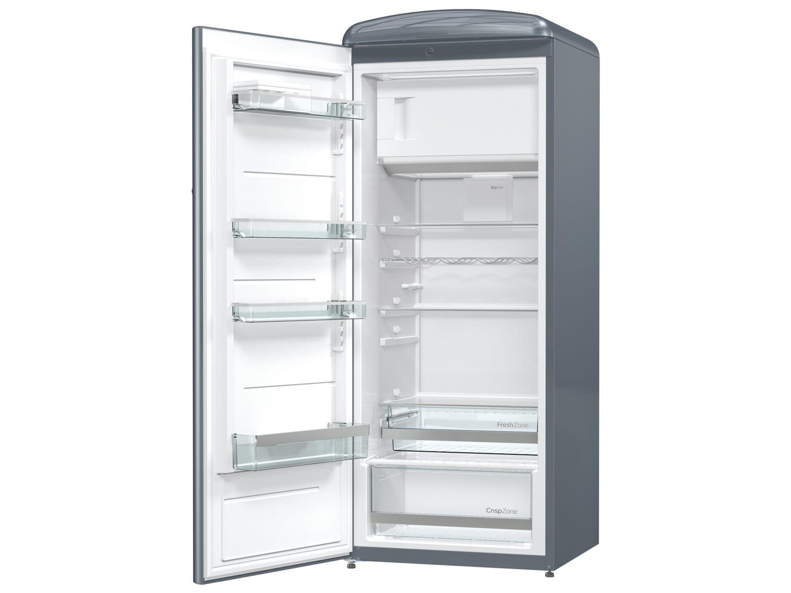 Kühlschrank Xl : Gorenje orb l standkühlschrank grau metallic